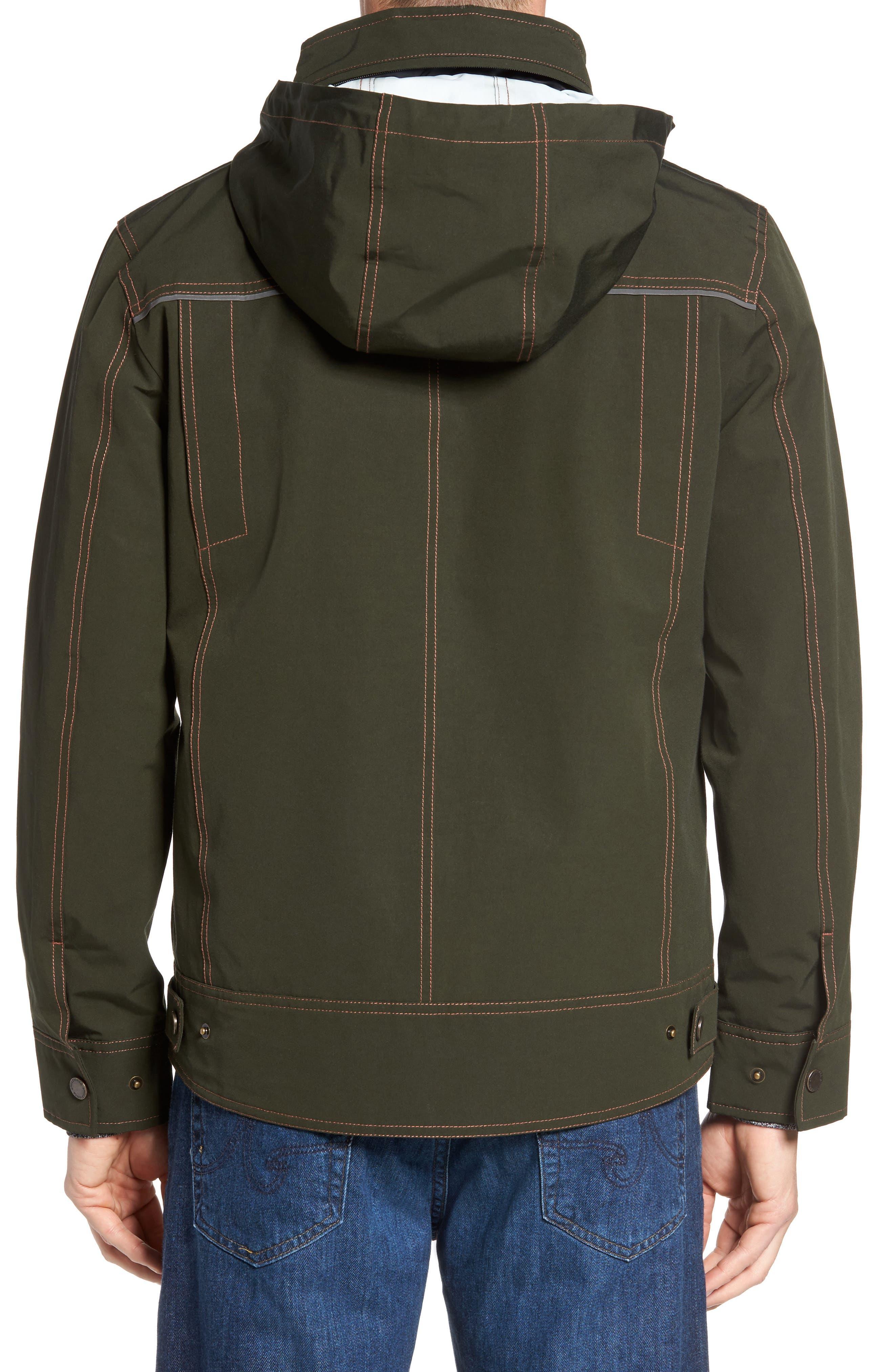 Forks Waterproof Jacket,                             Alternate thumbnail 2, color,                             Rosin