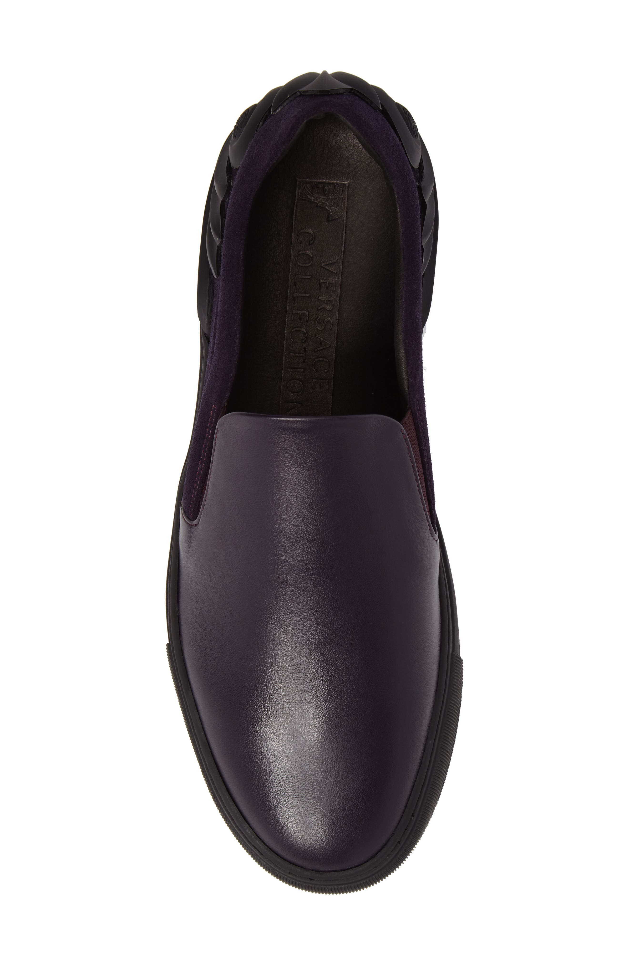 Collection Baroque Slip-On,                             Alternate thumbnail 5, color,                             Must/ Nikel Leather
