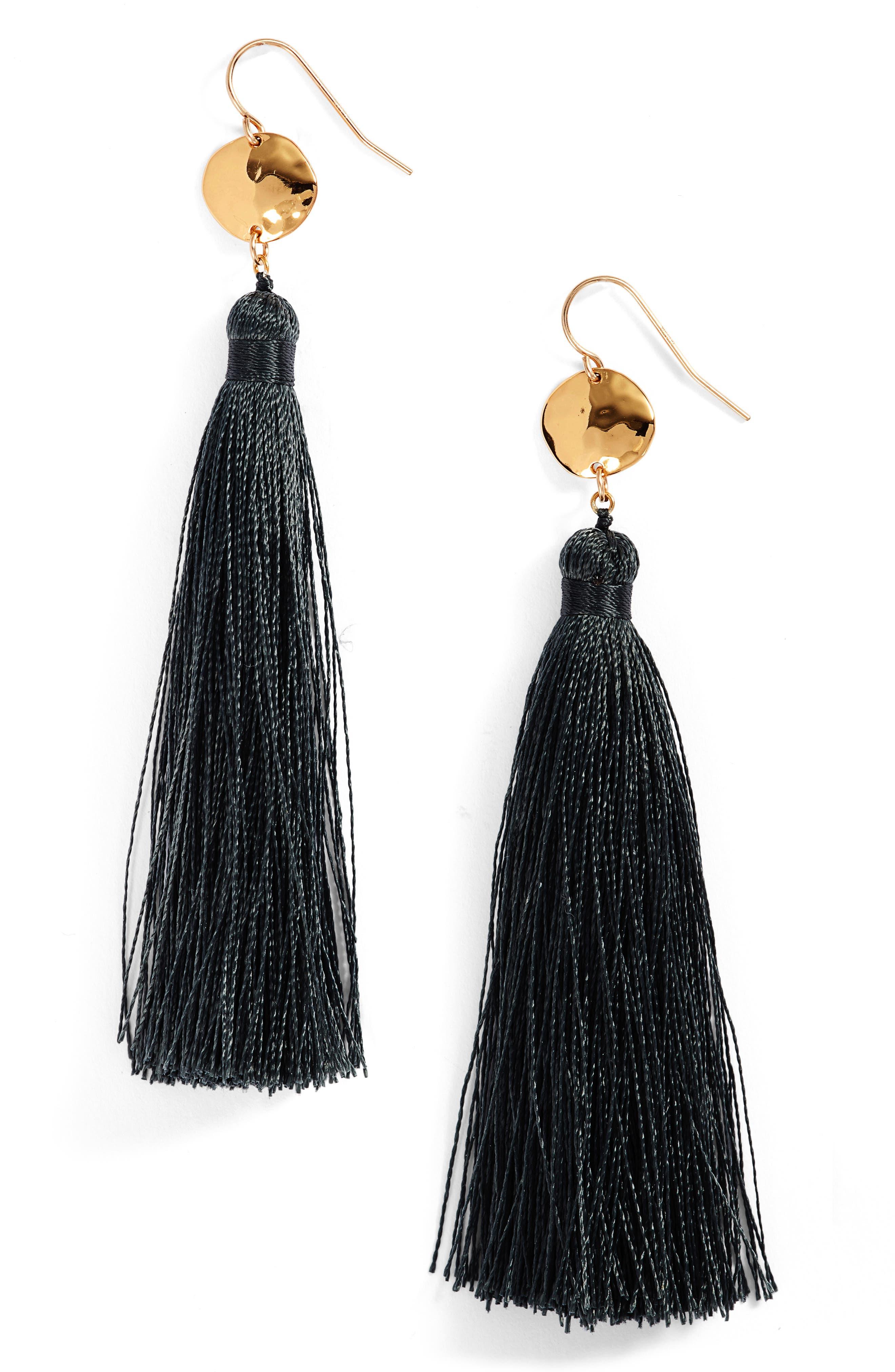 gorjana Leucadia Tassel Drop Earrings