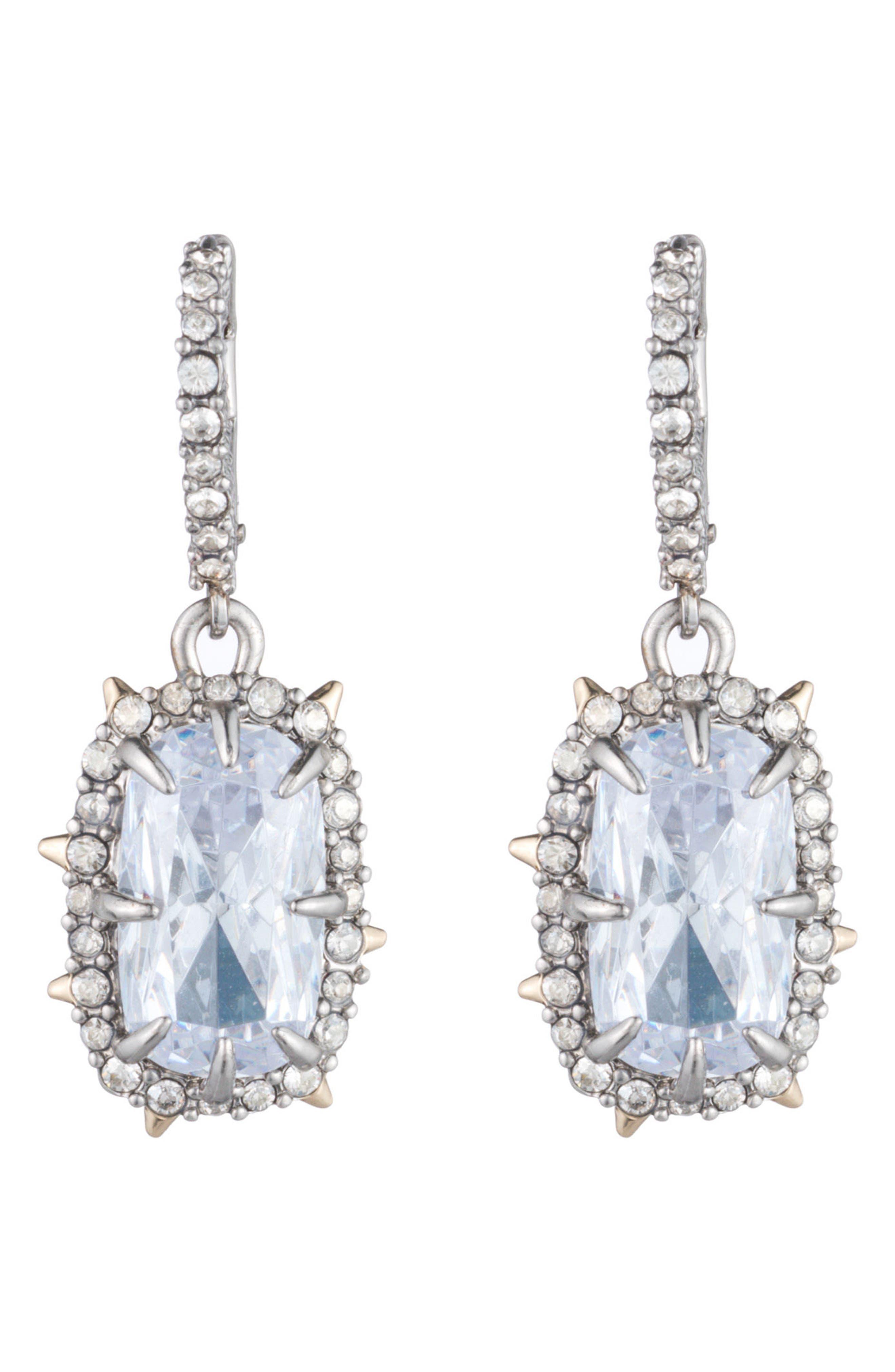 Alternate Image 2  - Alexis Bittar Swarovski Crystal Drop Earrings