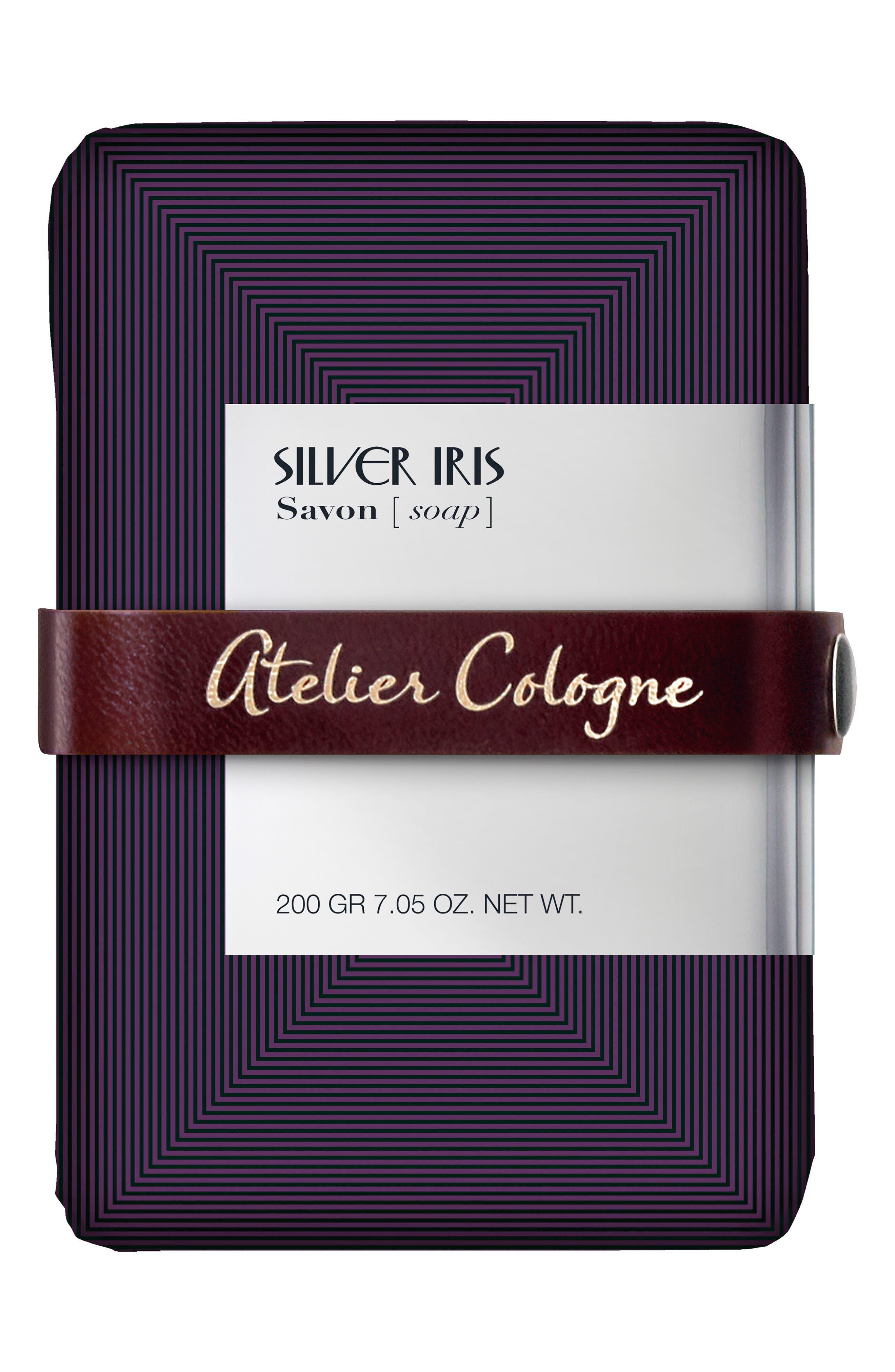 Silver Iris Soap,                         Main,                         color, No Color