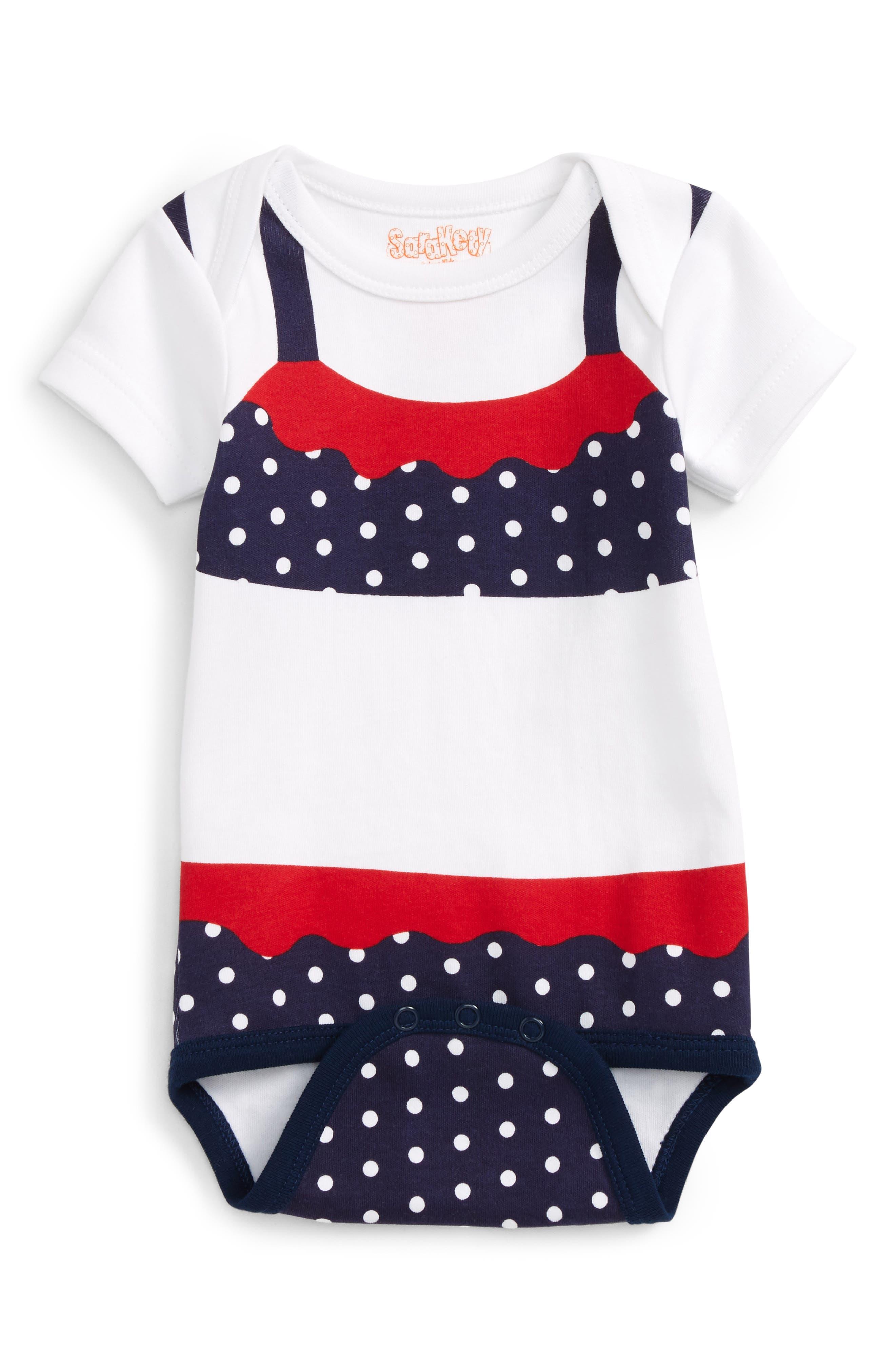 Sara Kety Baby & Kids Polka Dot Bodysuit (Baby Girls)