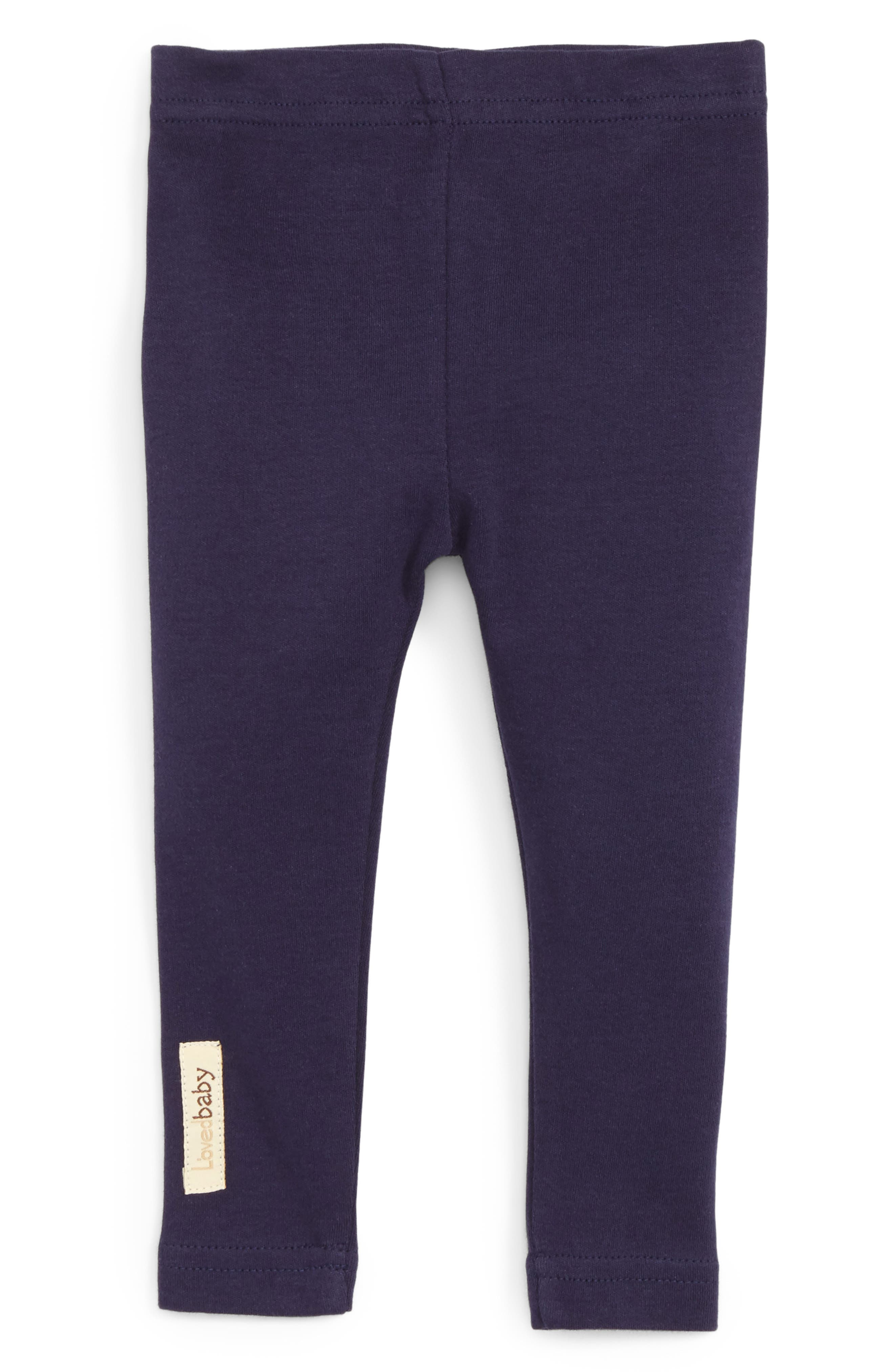 Organic Cotton Pants,                         Main,                         color, Navy