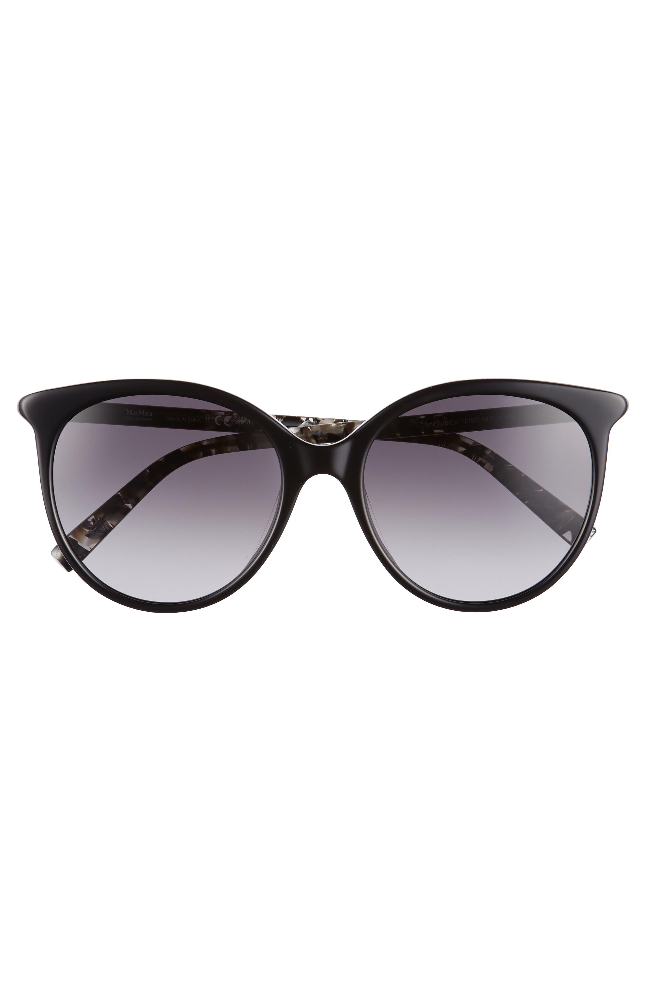 Alternate Image 3  - Max Mara Tube 54mm Gradient Lens Cat Eye Sunglasses