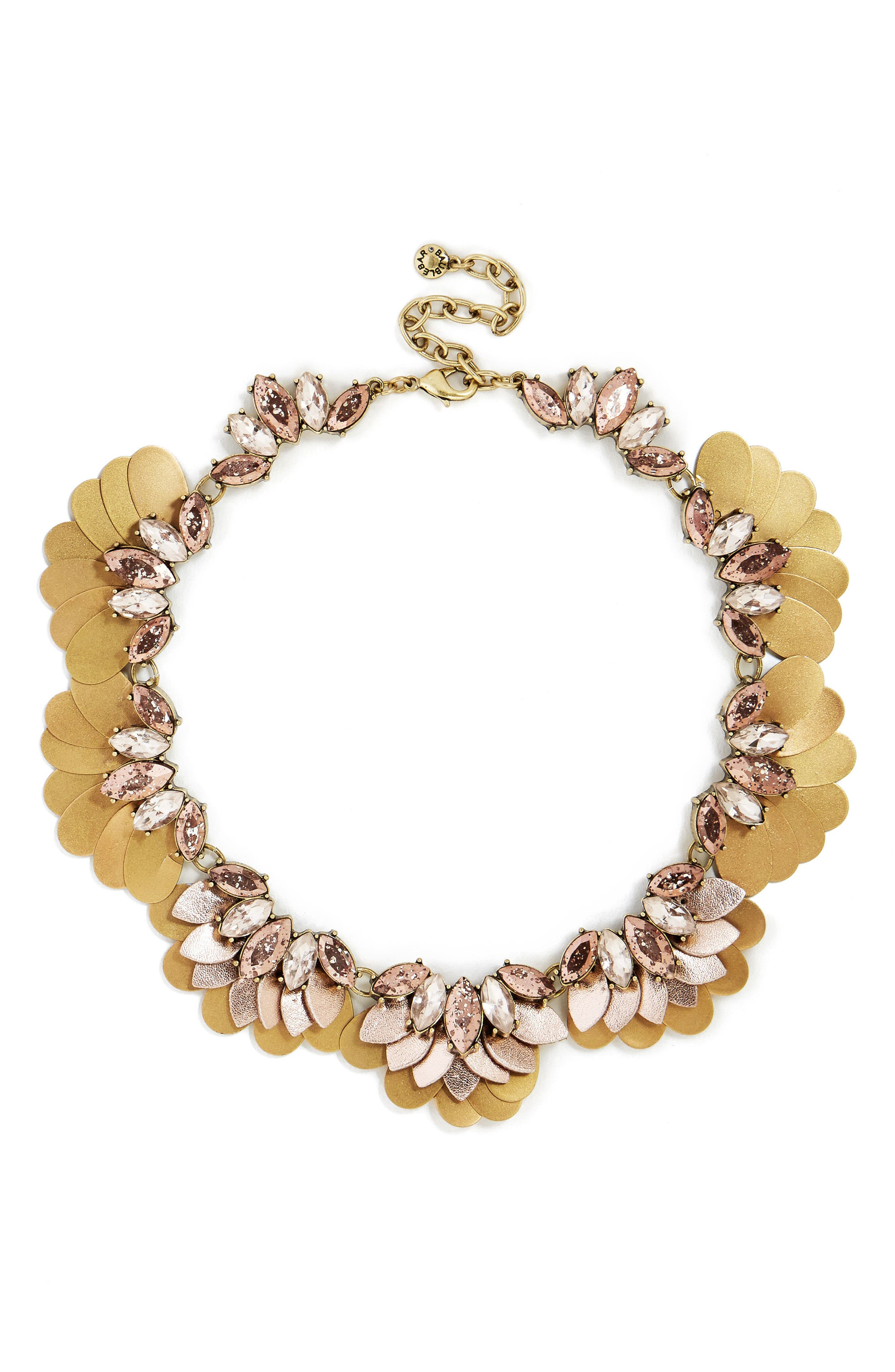 Florencia Necklace,                         Main,                         color, Rose Gold