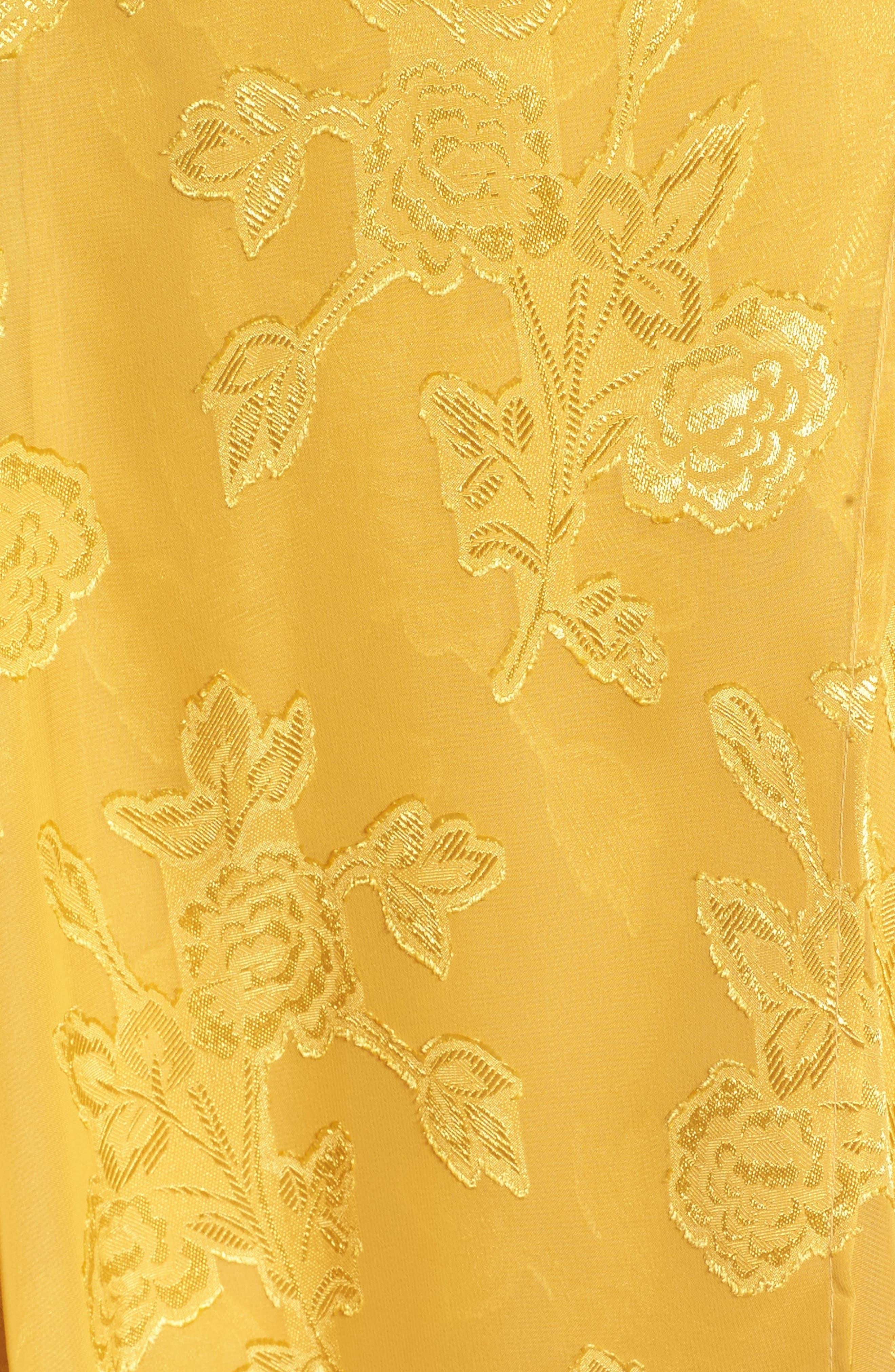 Alternate Image 5  - Leith Handkerchief Hem Faux-Wrap Midi Dress