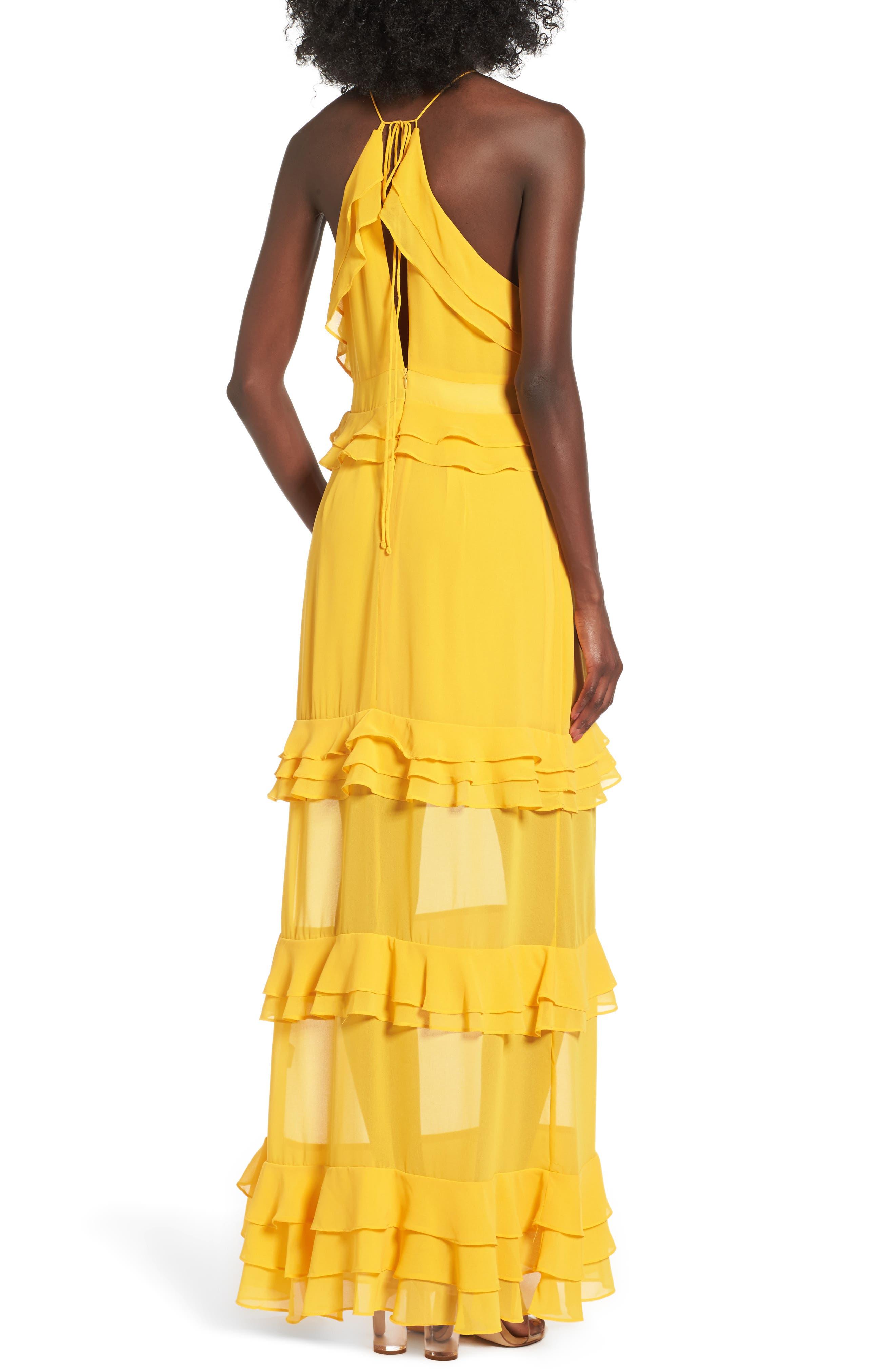 Alternate Image 2  - AFRM Violet Maxi Dress