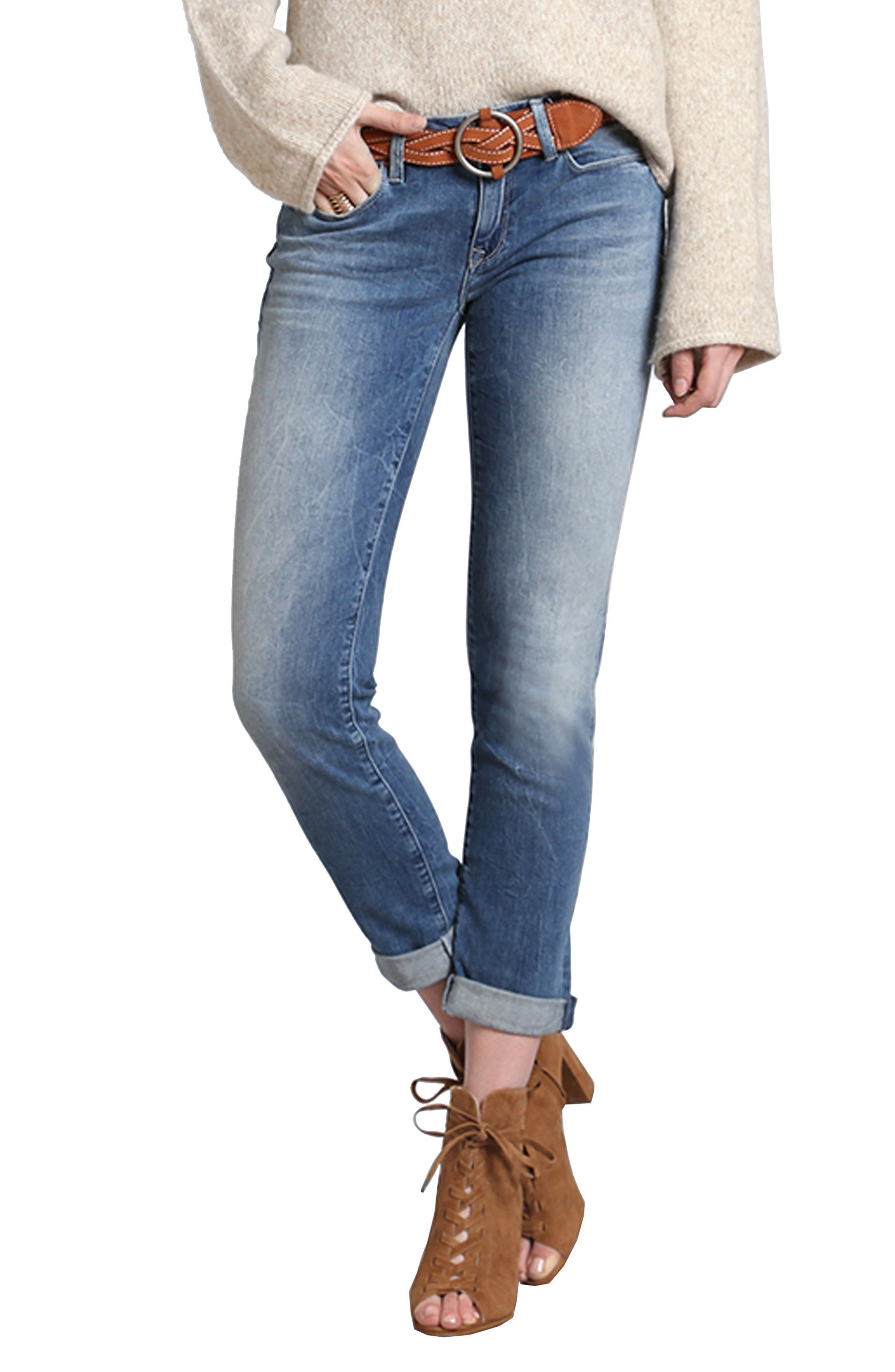 Mavi Jeans Emma Boyfriend Slim Jeans (Light Foggy Vintage)