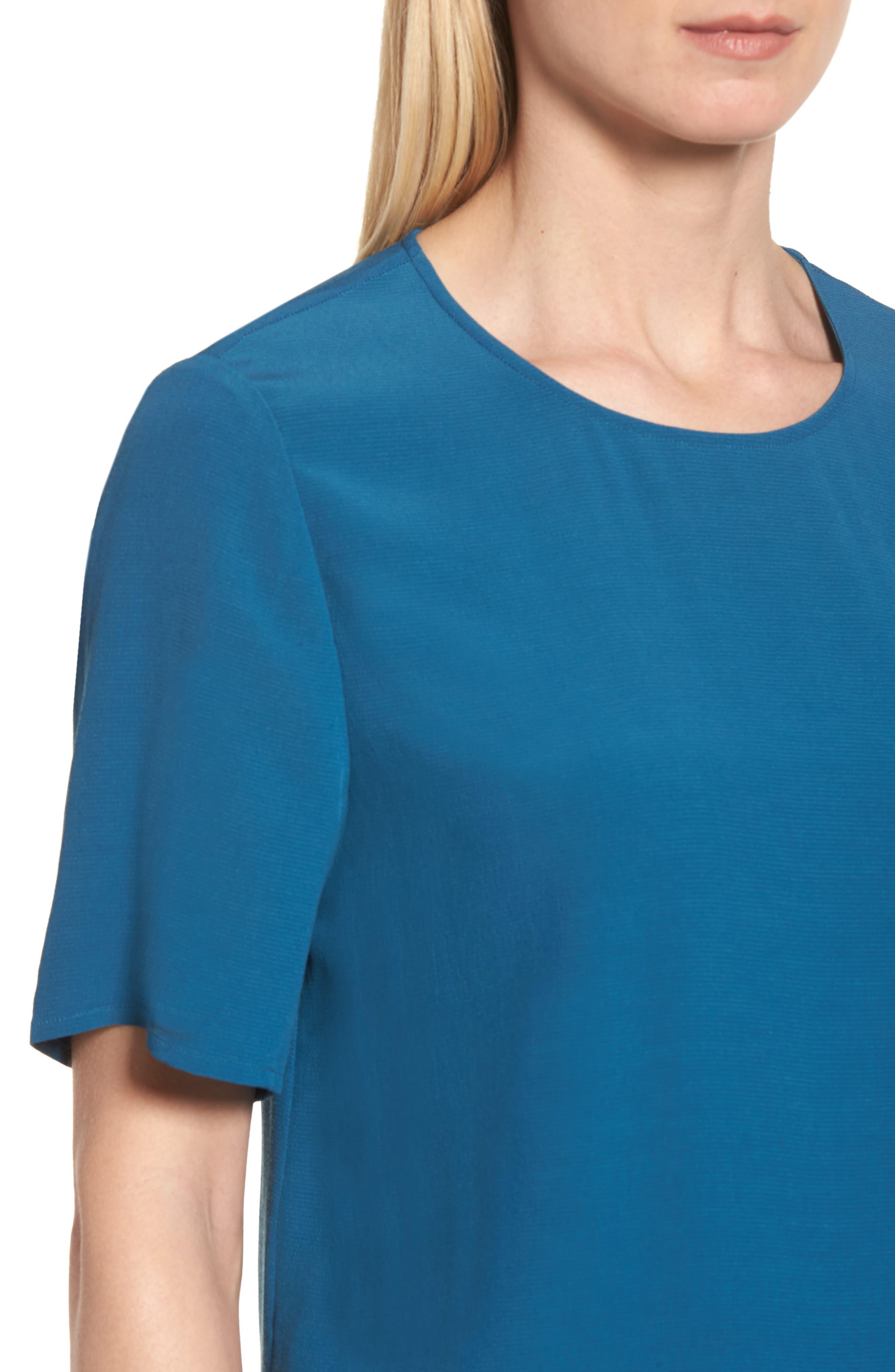 Alternate Image 4  - Eileen Fisher Tencel® Blend Top