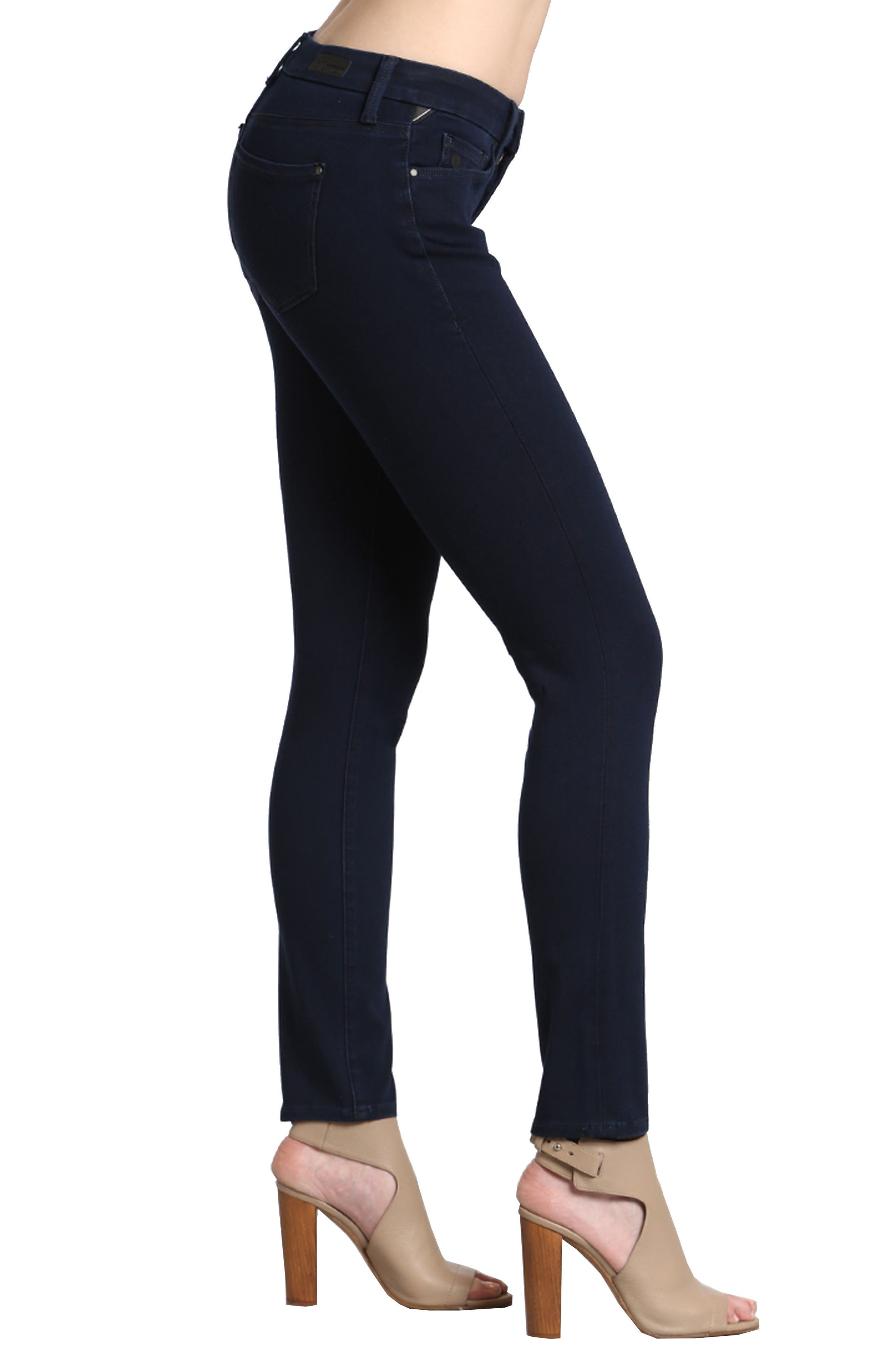 Alternate Image 3  - Mavi Jeans Alexa Stretch Skinny Jeans (Deep)
