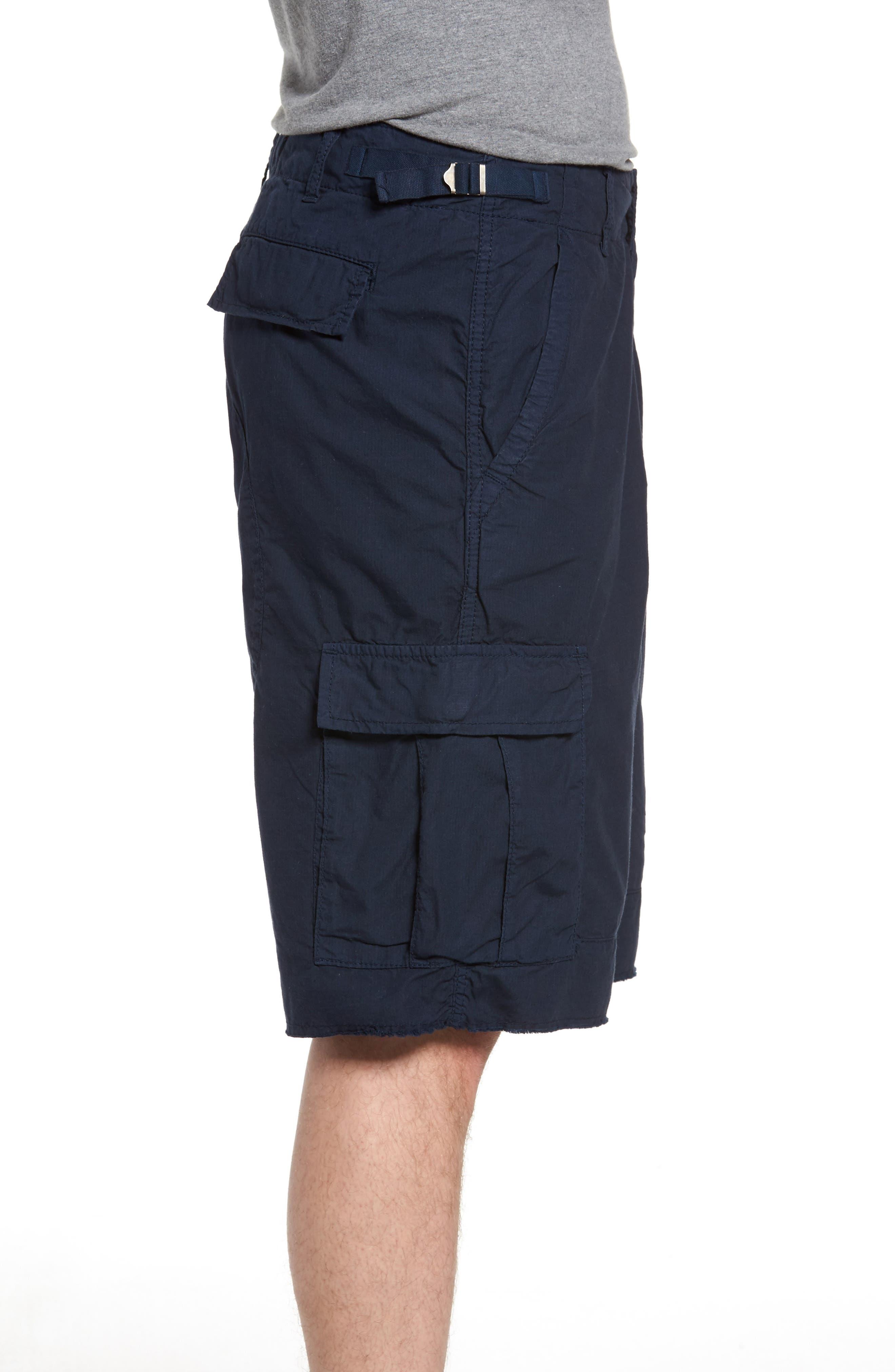 'Oxnard' Cargo Shorts,                             Alternate thumbnail 3, color,                             Navy