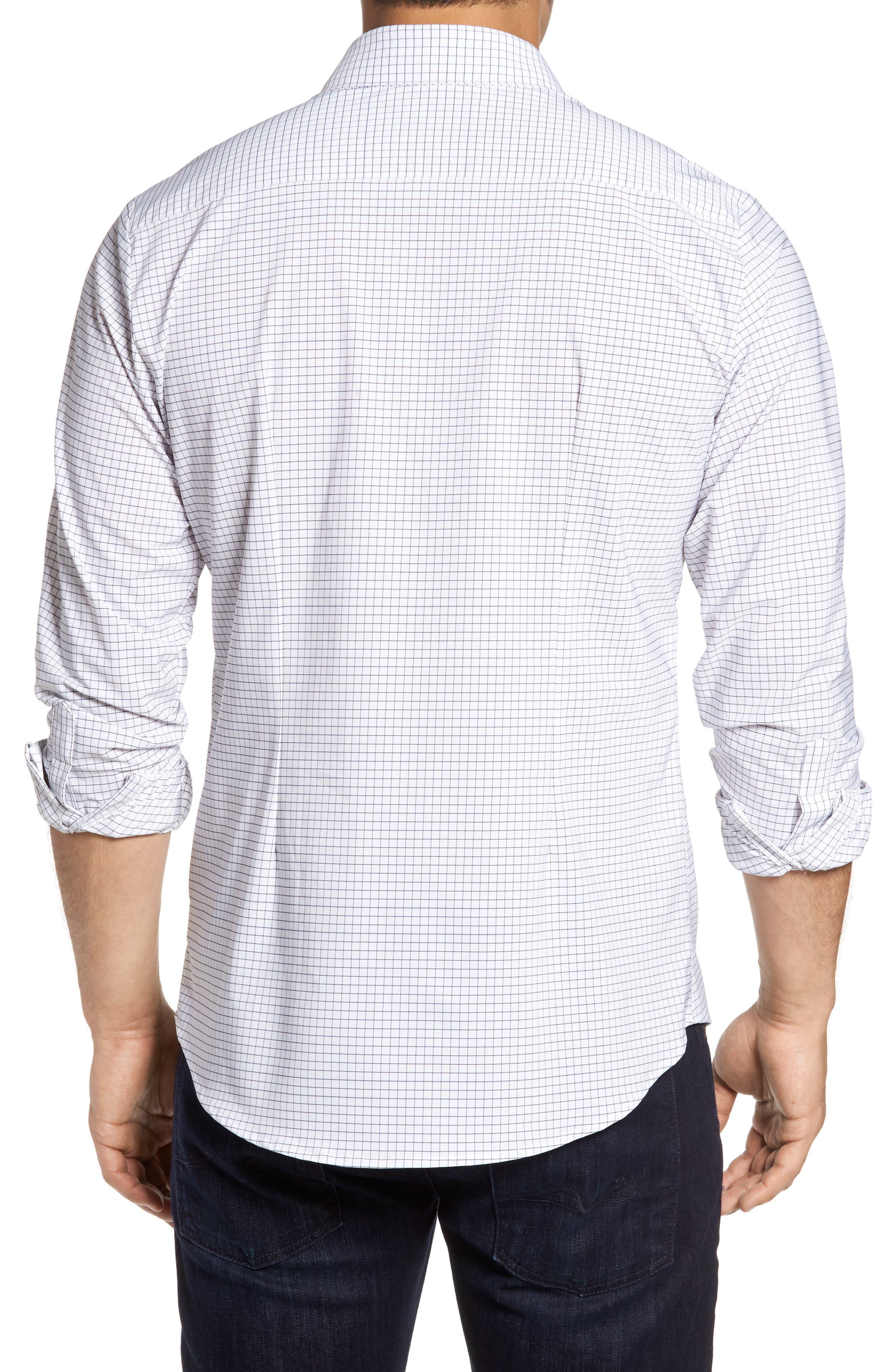 Alternate Image 2  - Mizzen+Main Kennedy Windowpane Sport Shirt
