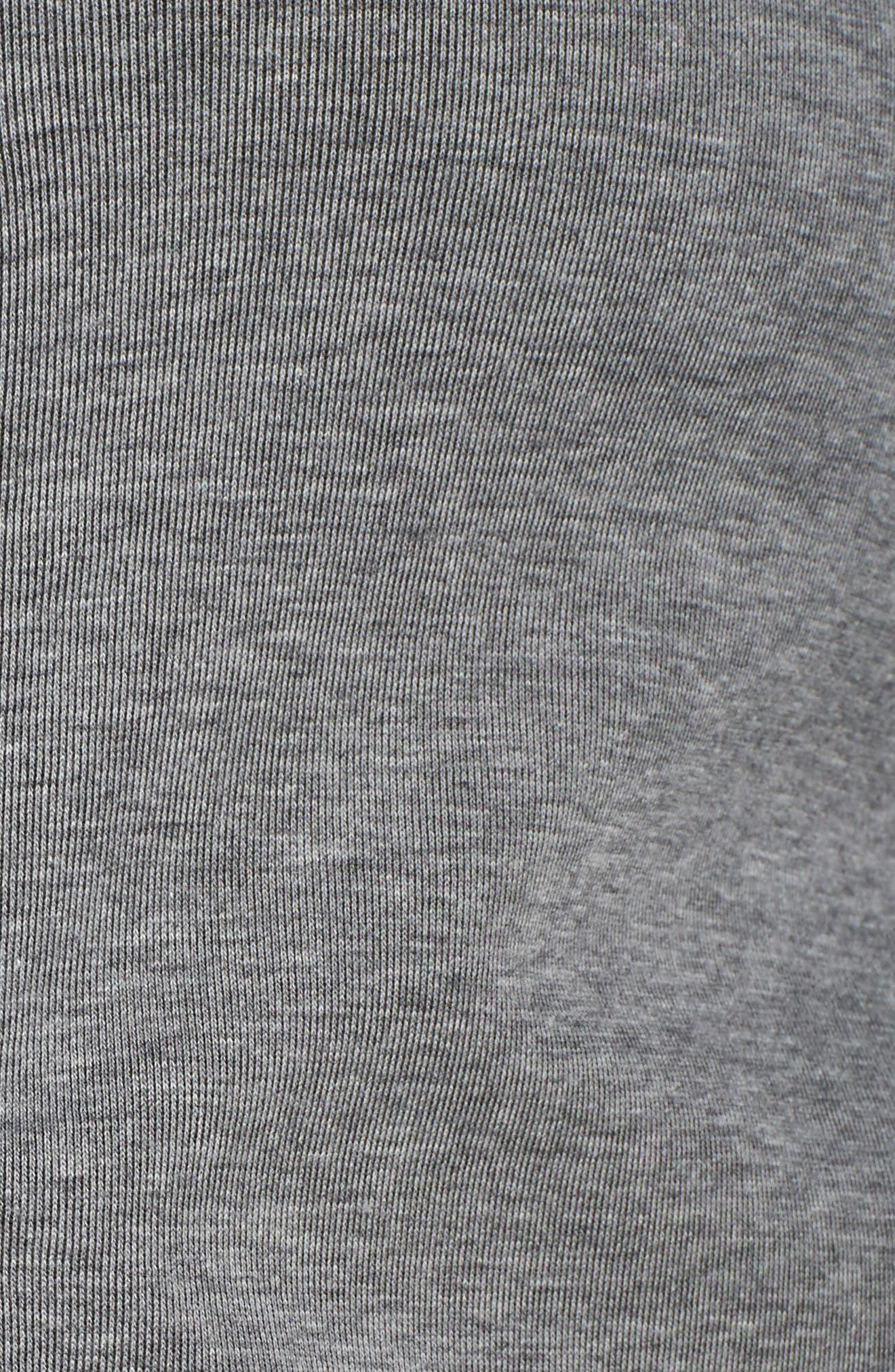 Tech Fleece Hoodie,                             Alternate thumbnail 6, color,                             Carbon Heather/ Heather/ Black