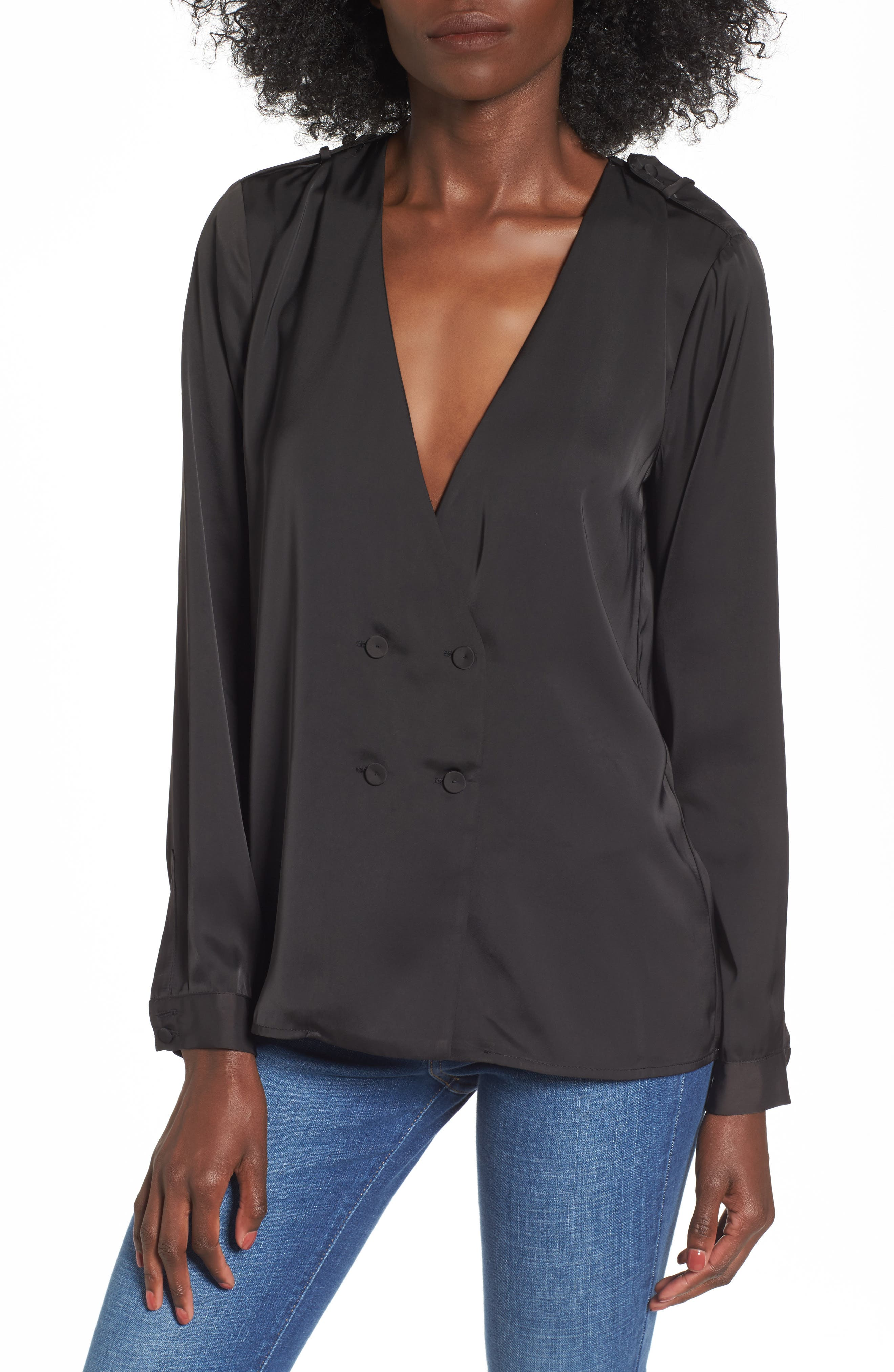 Alternate Image 1 Selected - L'Academie The Cadet Blouse