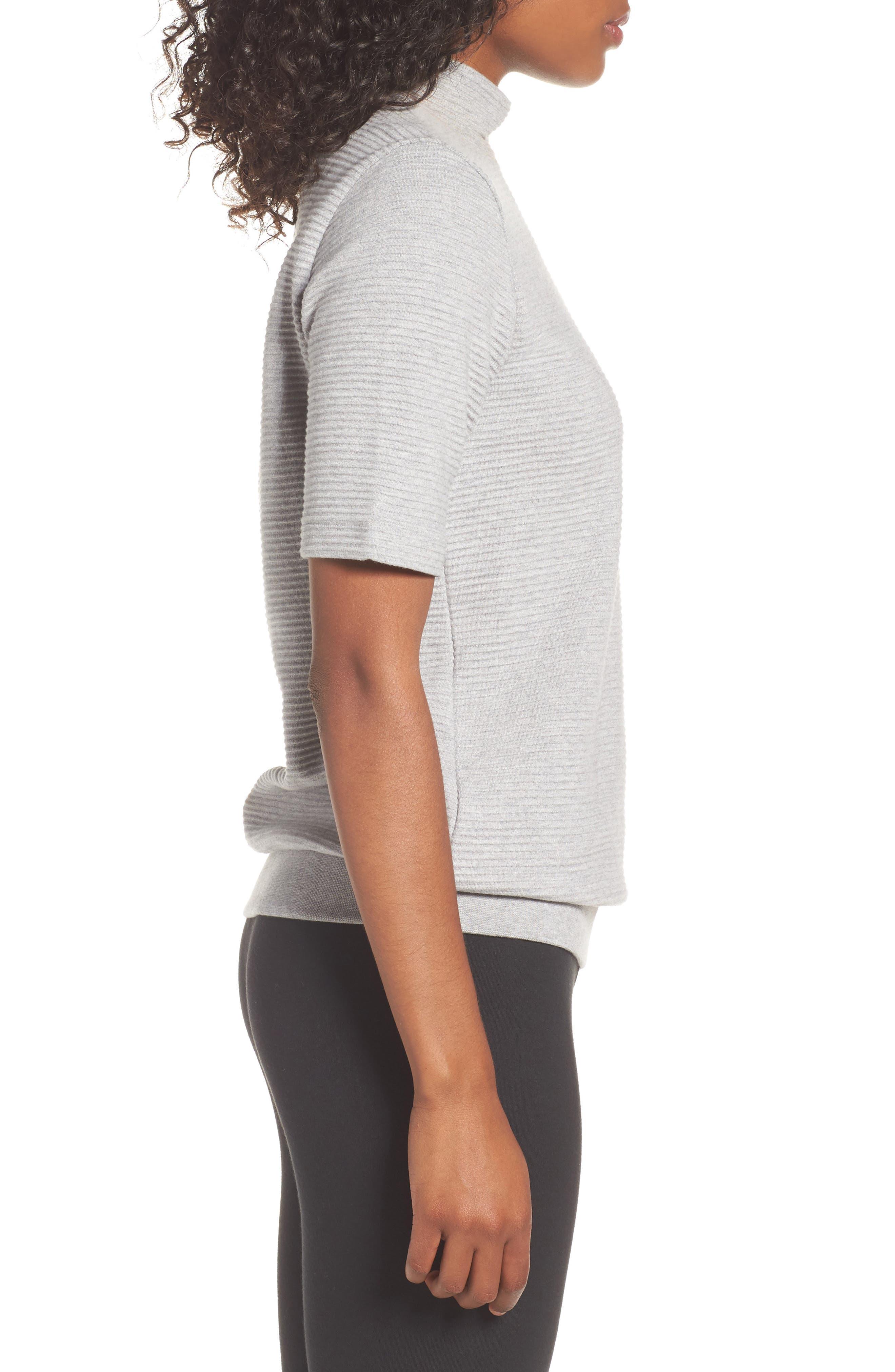 Originals EQT Sweatshirt,                             Alternate thumbnail 3, color,                             Medium Grey Heather