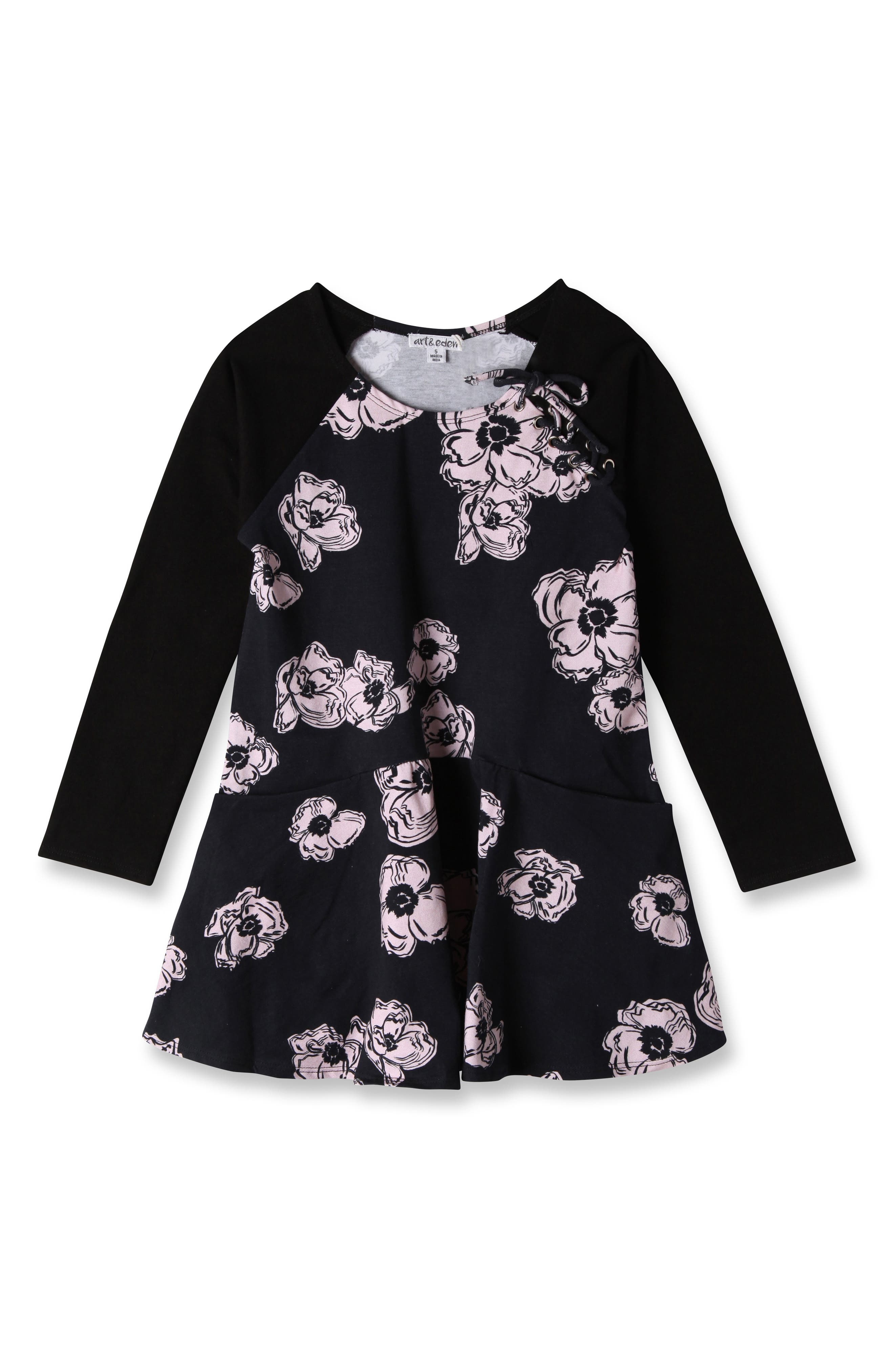Art & Eden Isabella Floral Dress (Toddler Girls & Little Girls)