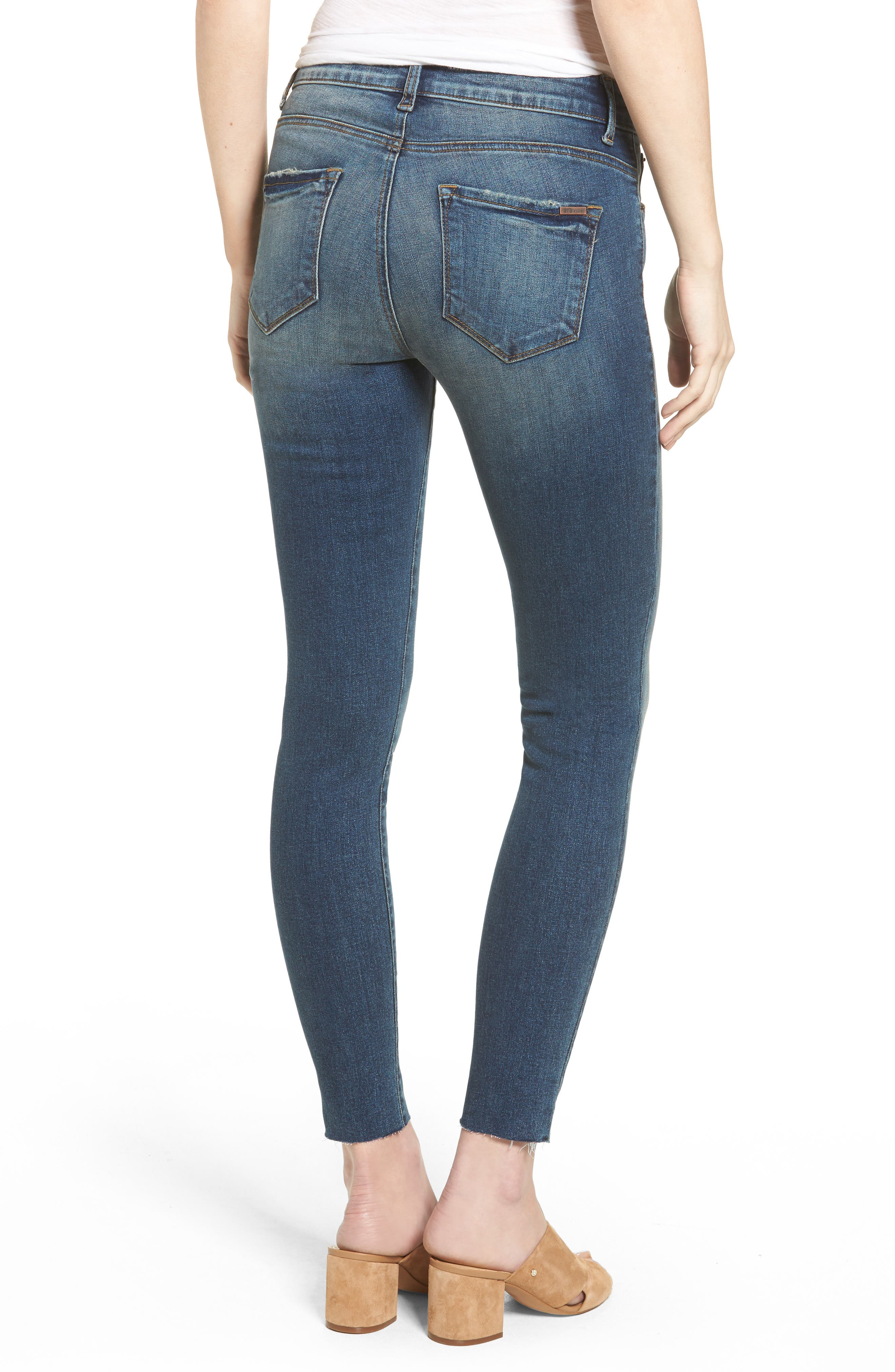 Alternate Image 2  - STS Blue Embroidered Skinny Jeans (Finsbury)
