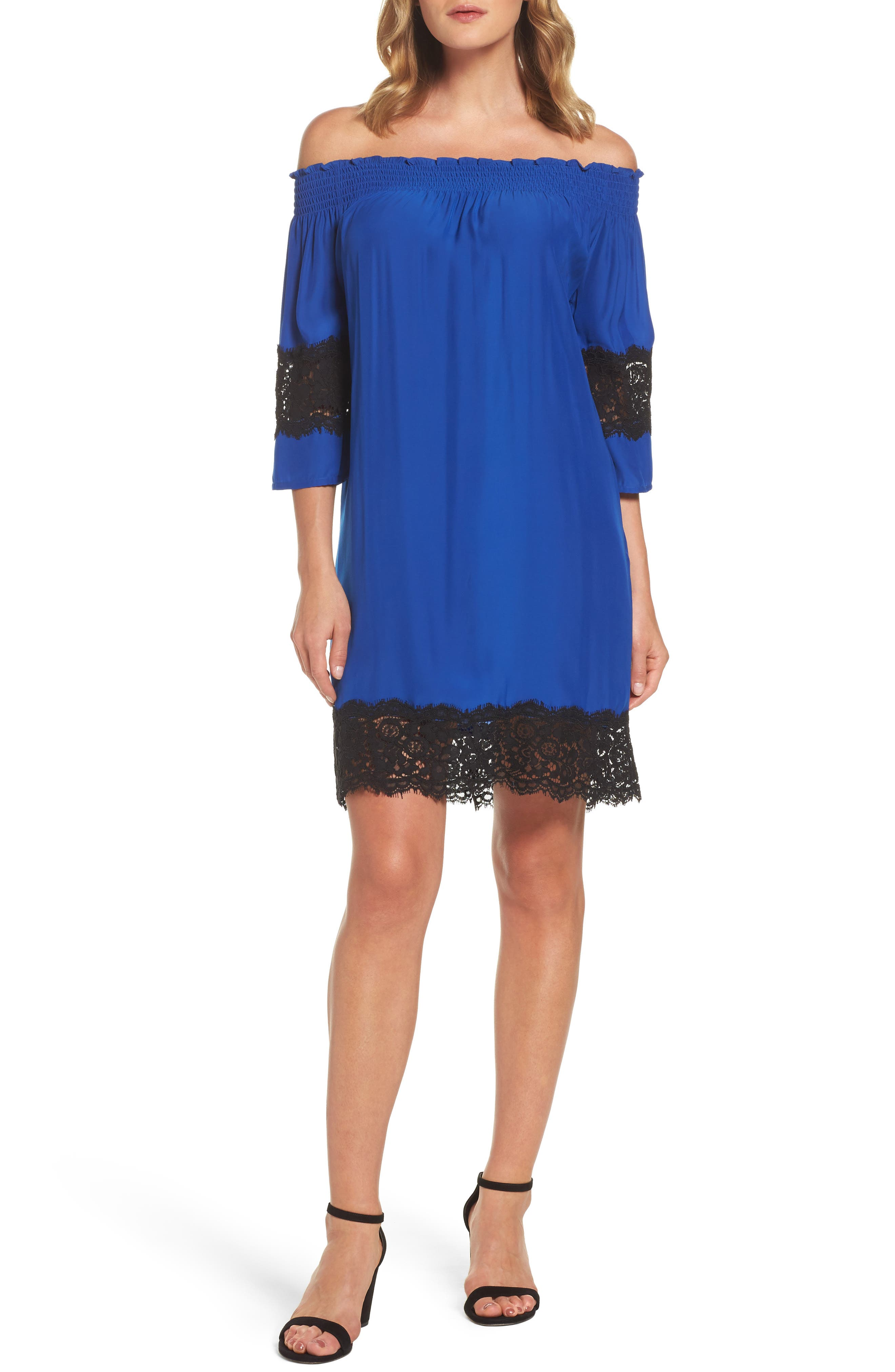 Felicity & Coco Off the Shoulder Shift Dress (Nordstrom Exclusive)