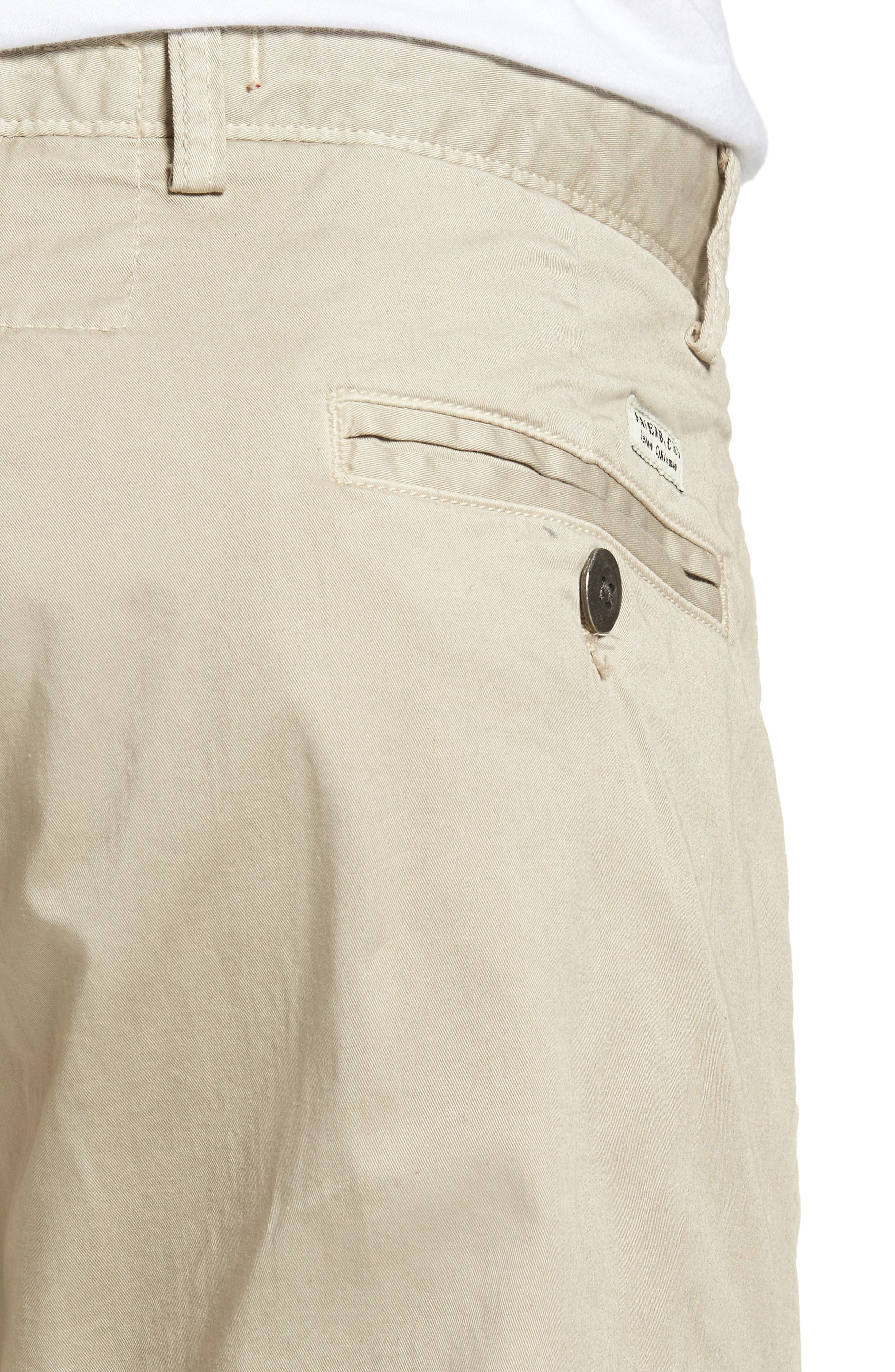 Alternate Image 4  - Original Paperbacks Belmont Stretch Chino Pants