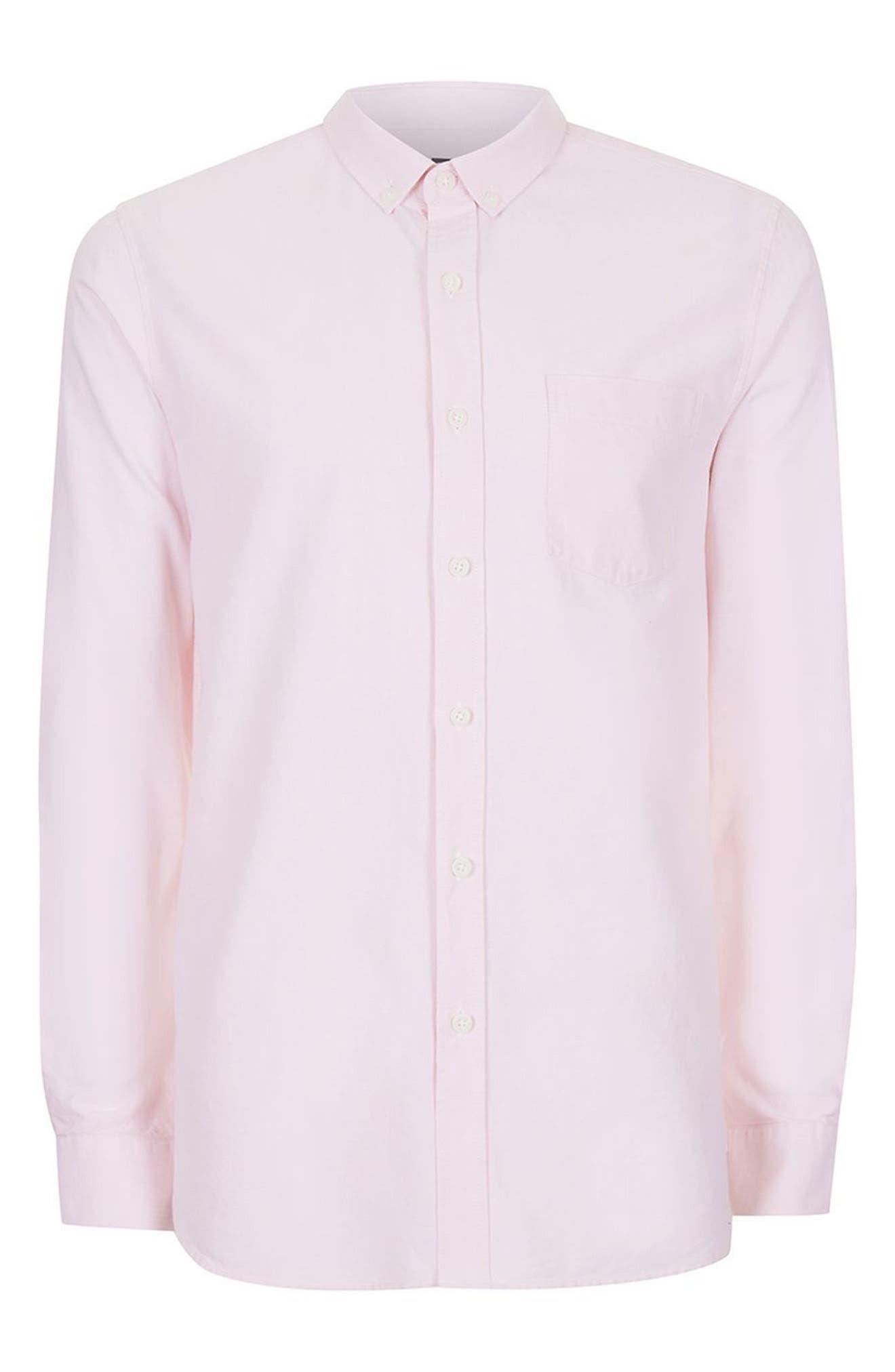 Alternate Image 5  - Topman Oxford Shirt