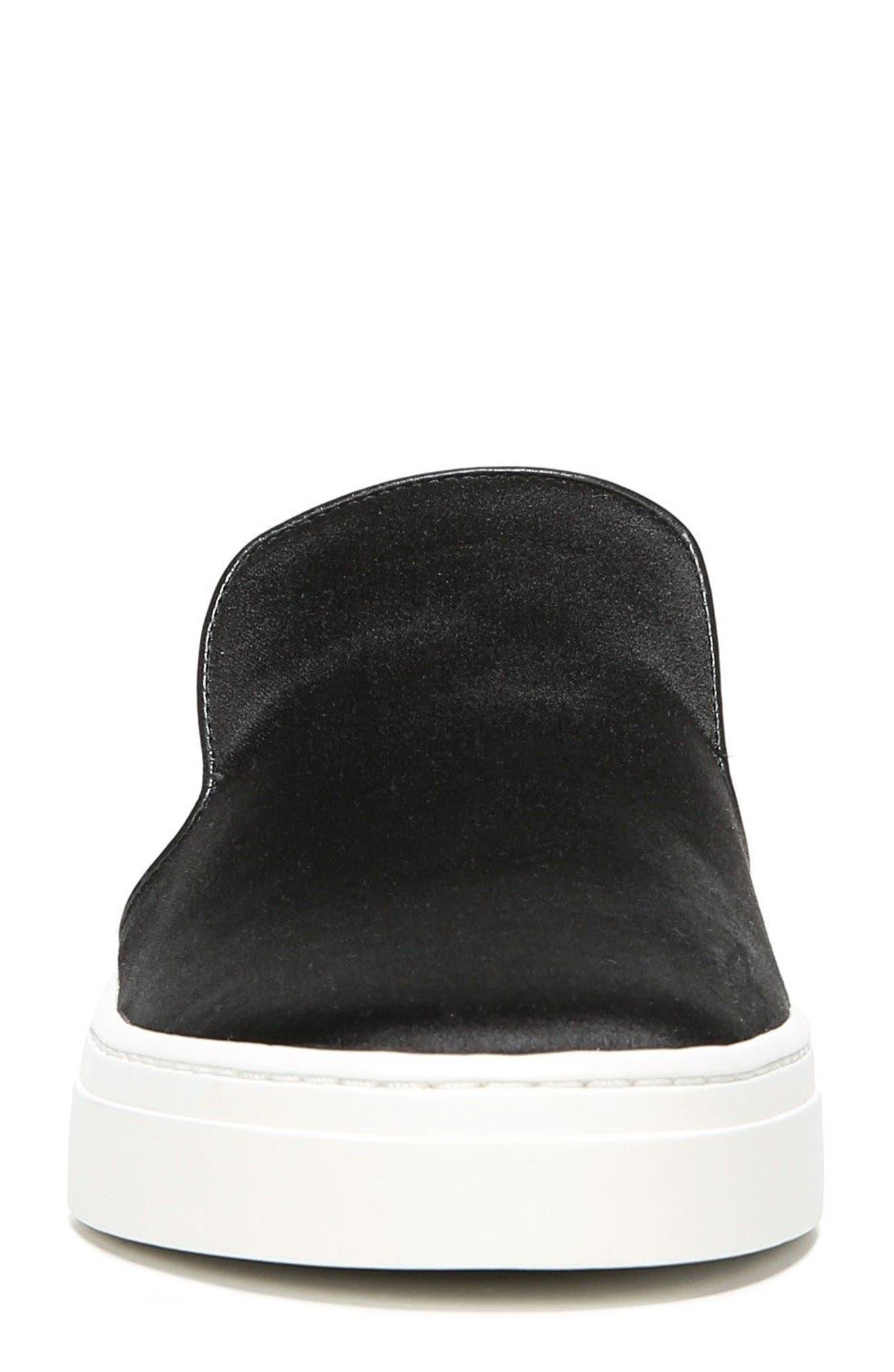 Budapest Slip-On Sneaker,                             Alternate thumbnail 4, color,                             Black