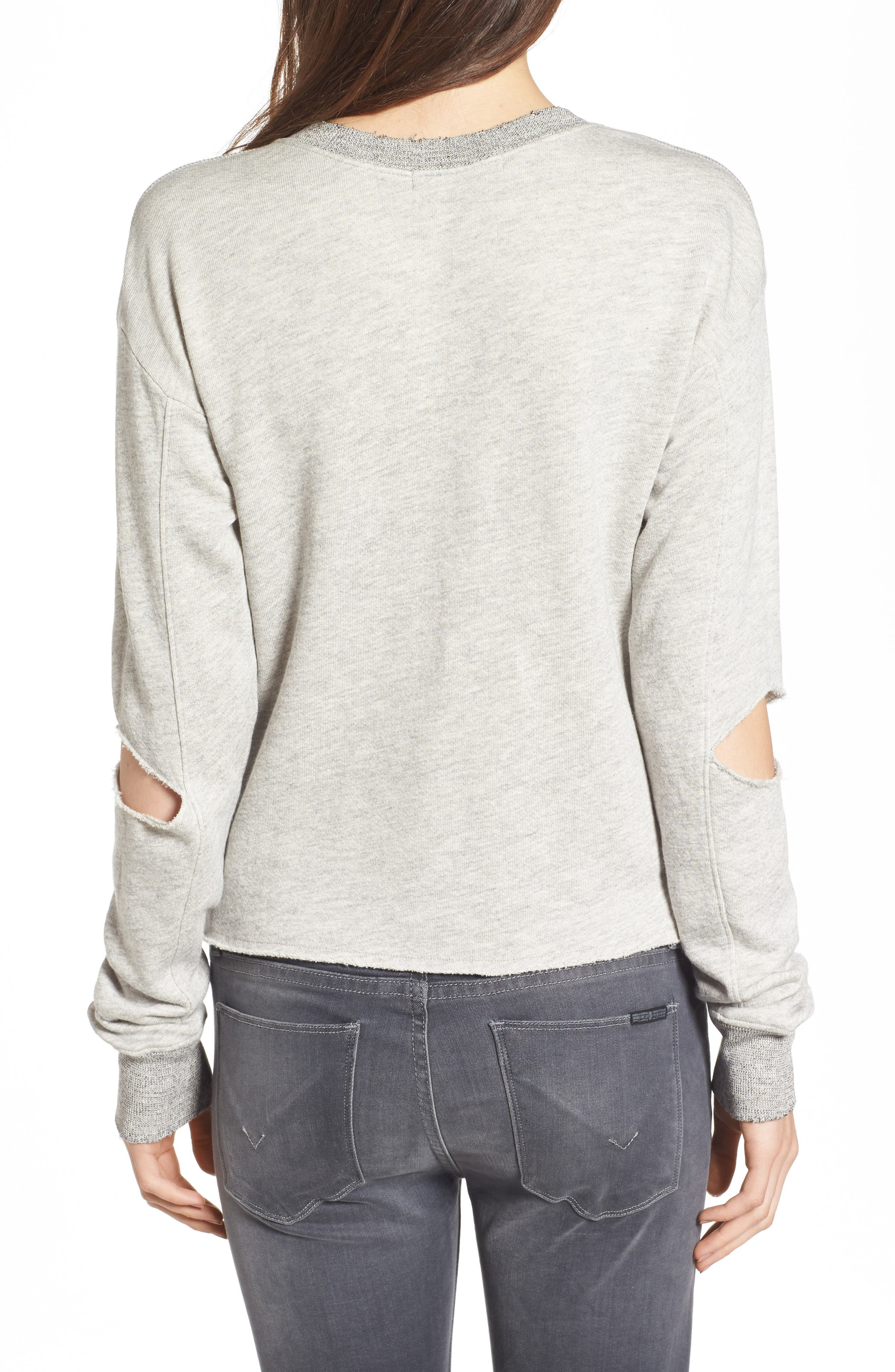 Alternate Image 2  - n:PHILANTHROPY Savannah Cutout Sweatshirt