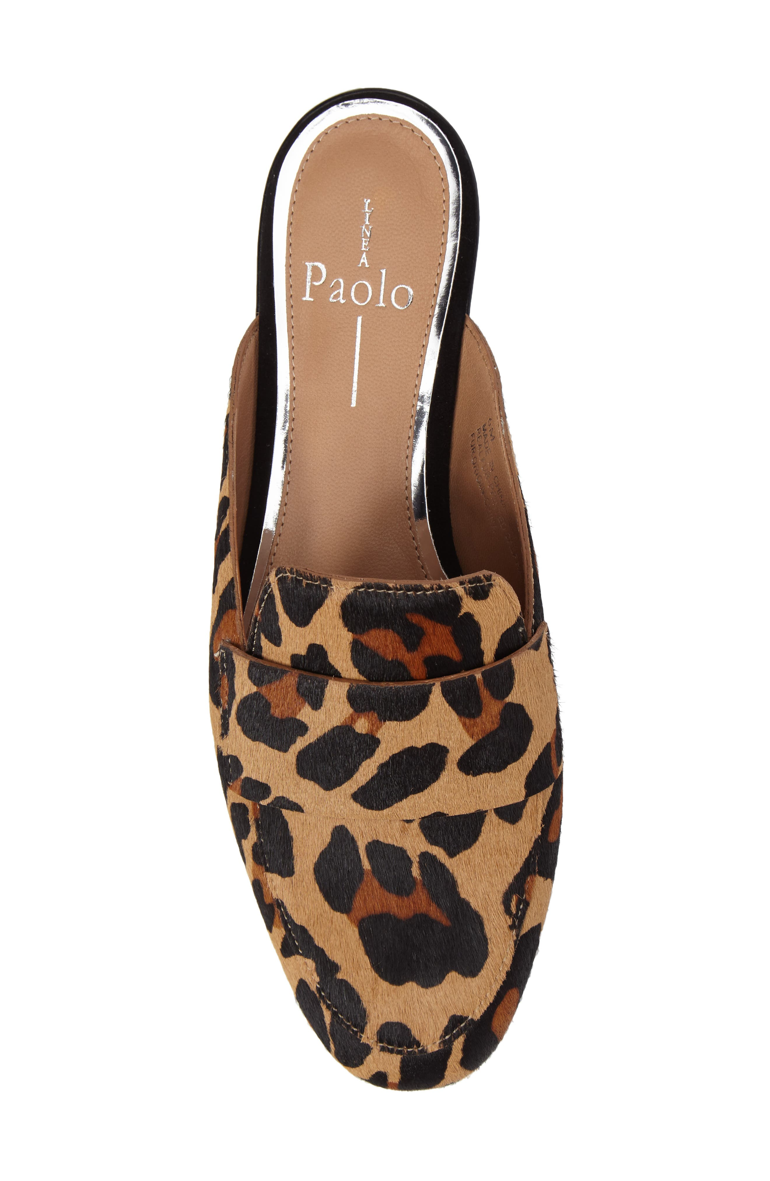 Alternate Image 5  - Linea Paolo Annie Genuine Calf Hair Loafer Mule (Women)
