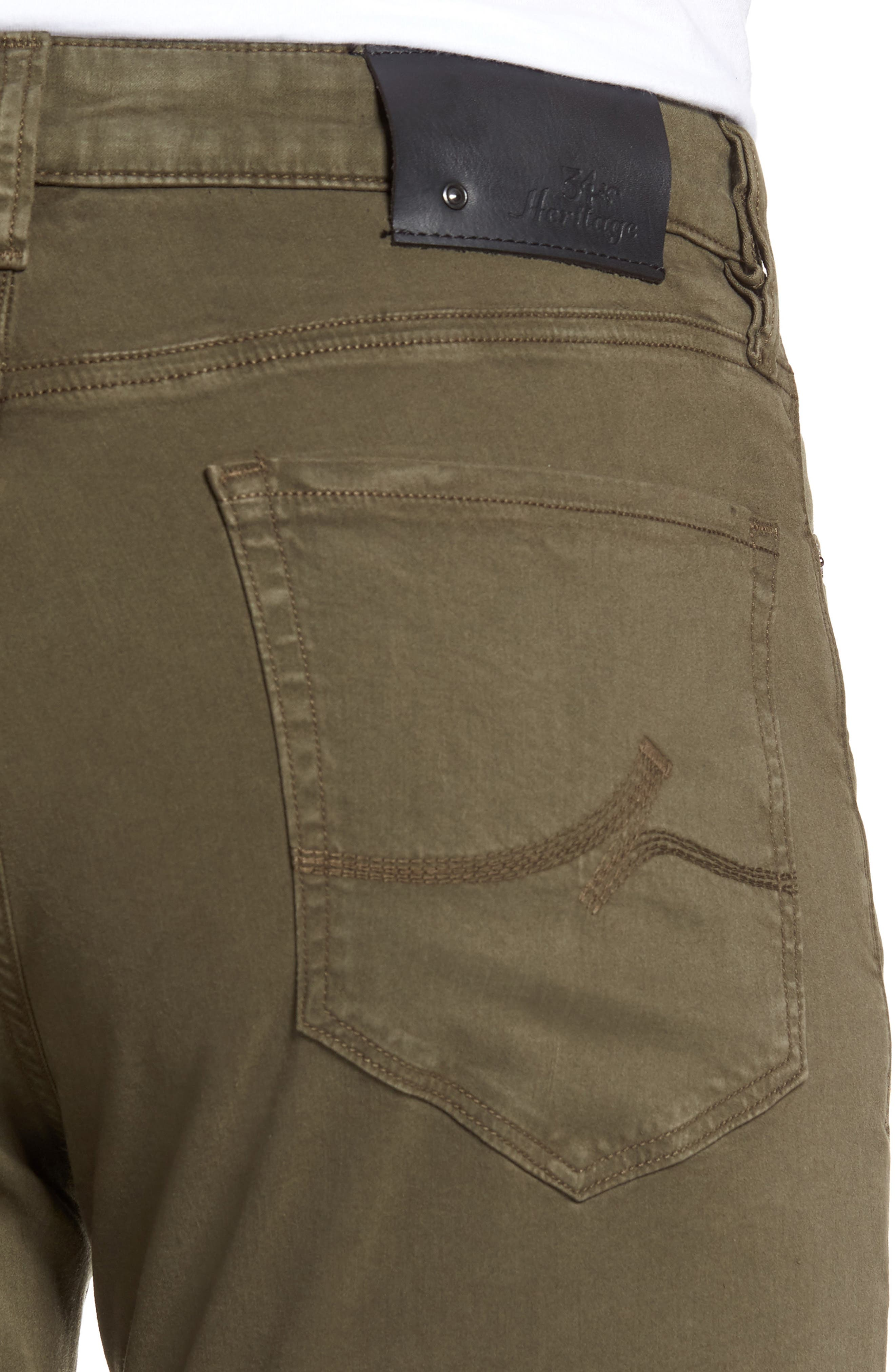 Charisma Relaxed Fit Pants,                             Alternate thumbnail 4, color,                             Olive Twill