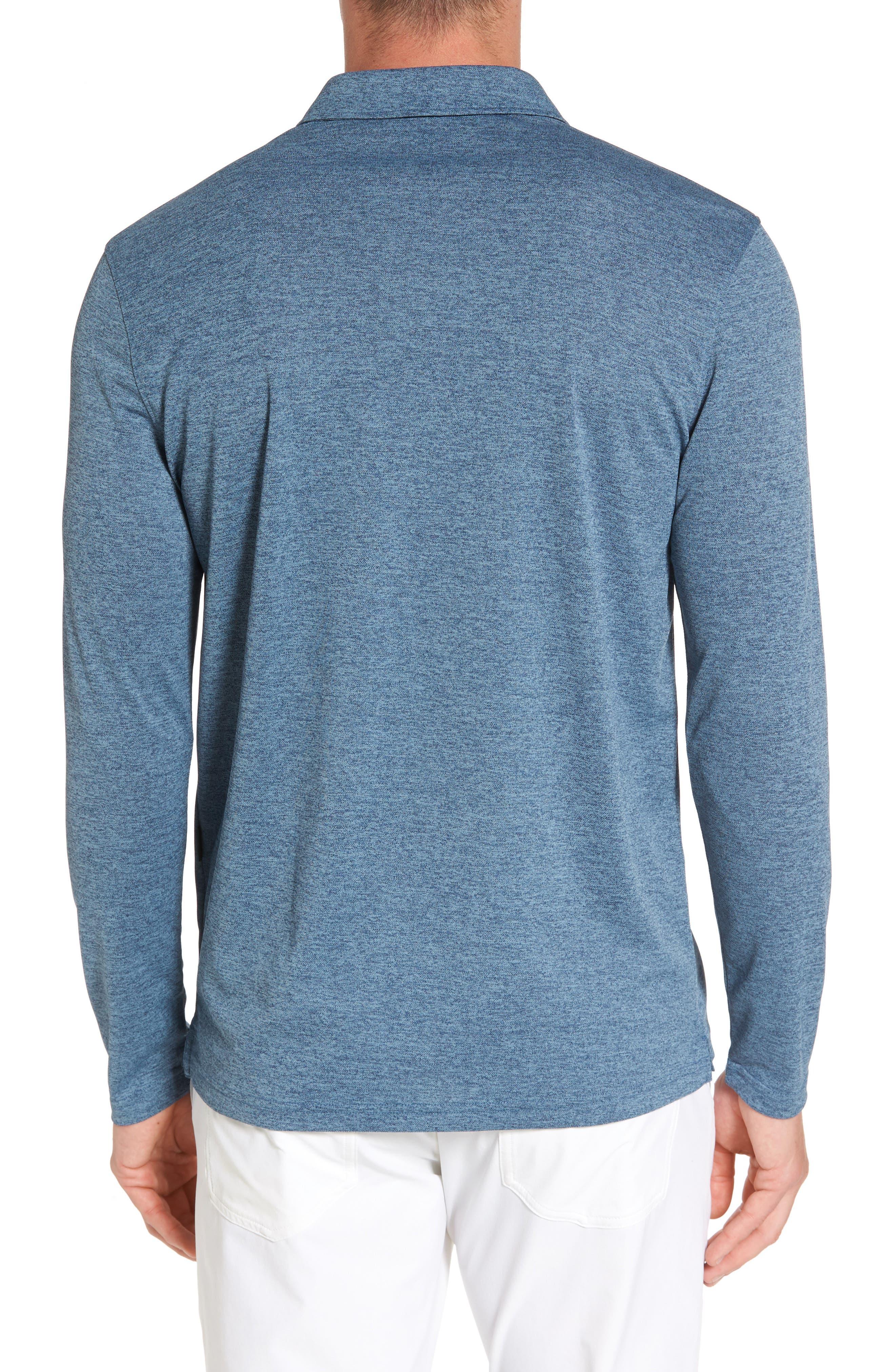 Alternate Image 2  - AG Hamden Long Sleeve Polo