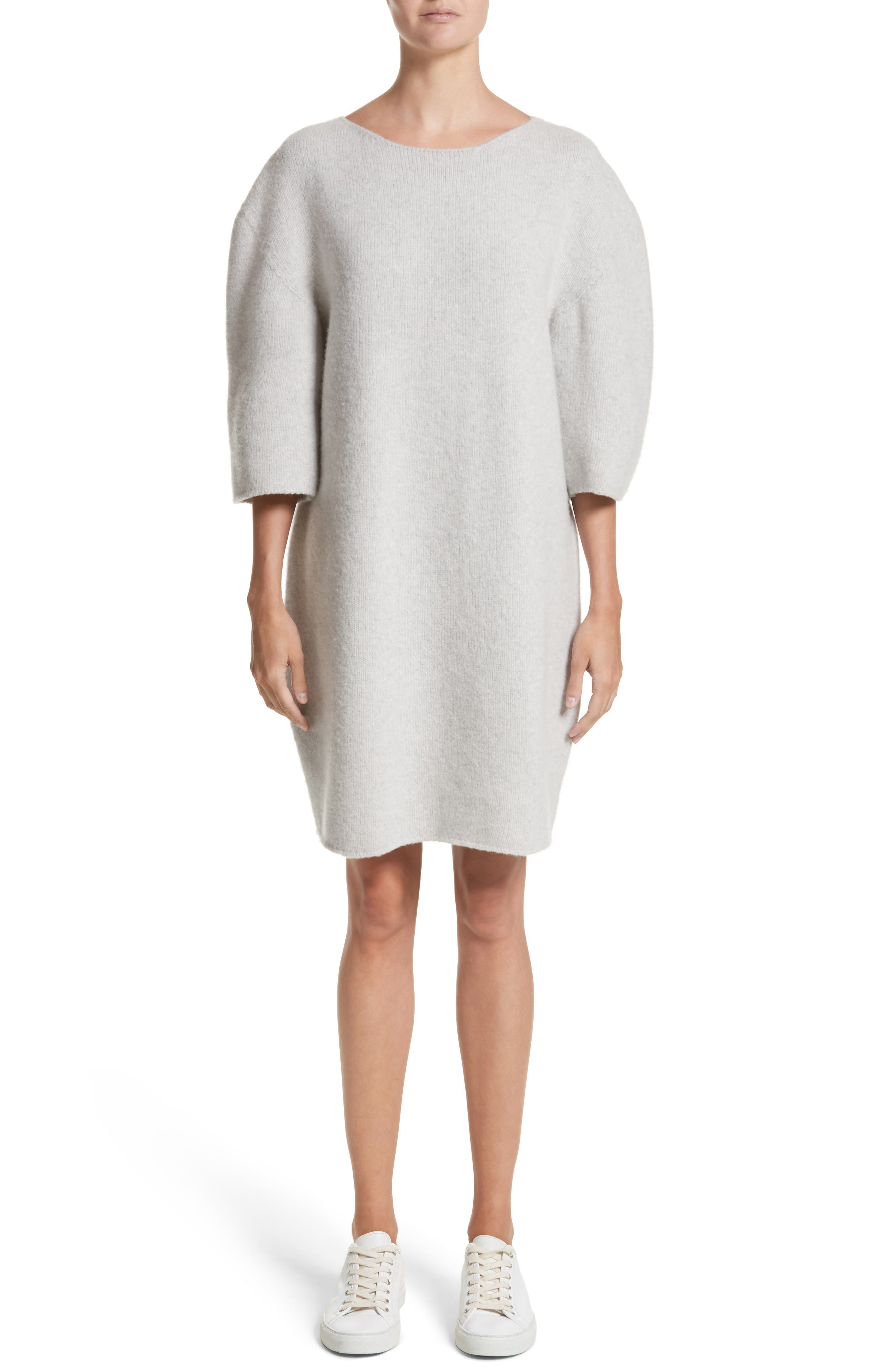 Main Image - Sofie D'Hoore Baseball Wool Sweater Dress