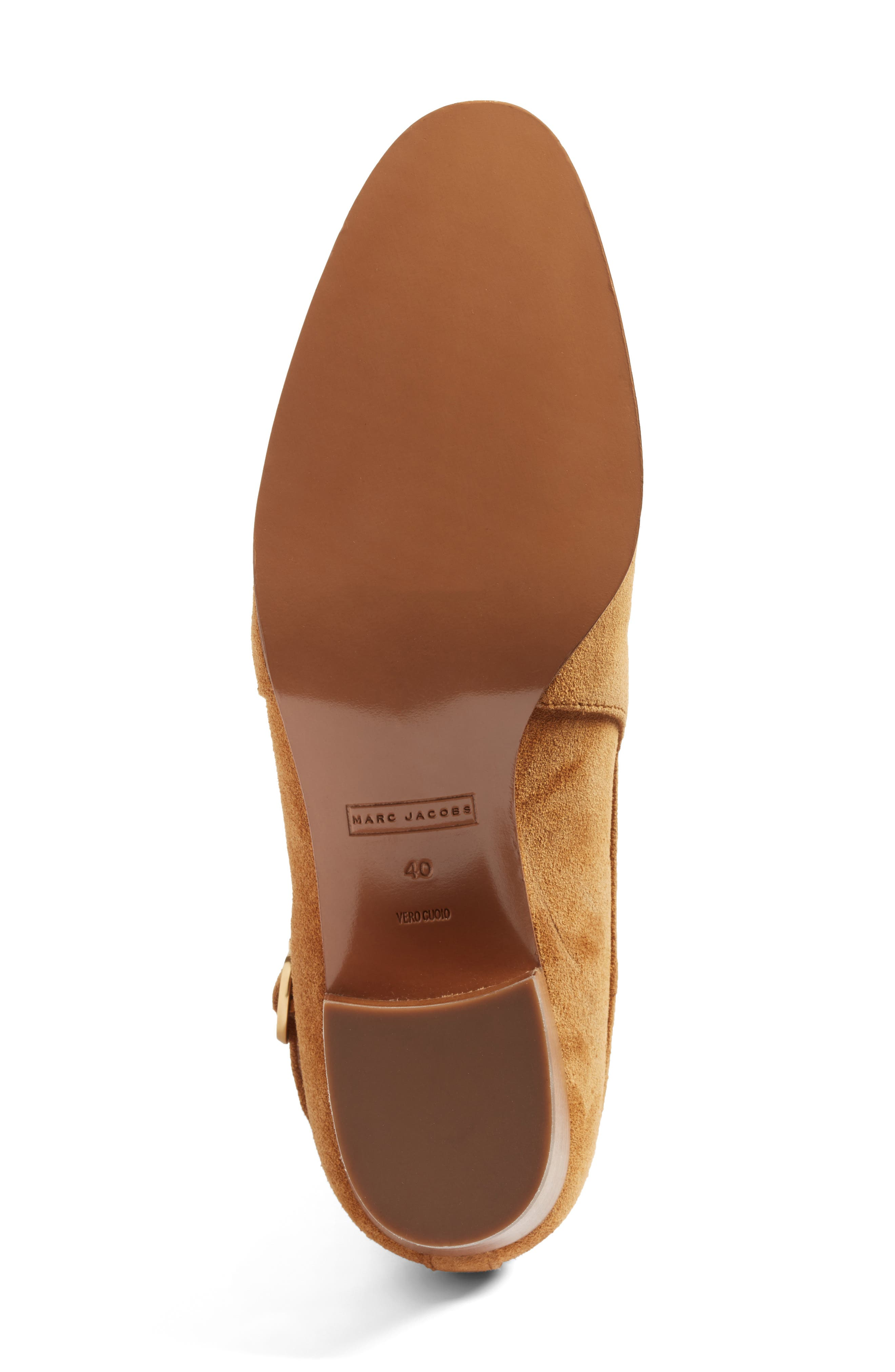 Alternate Image 6  - Marc Jacobs Ginger Interlock Bootie (Women)