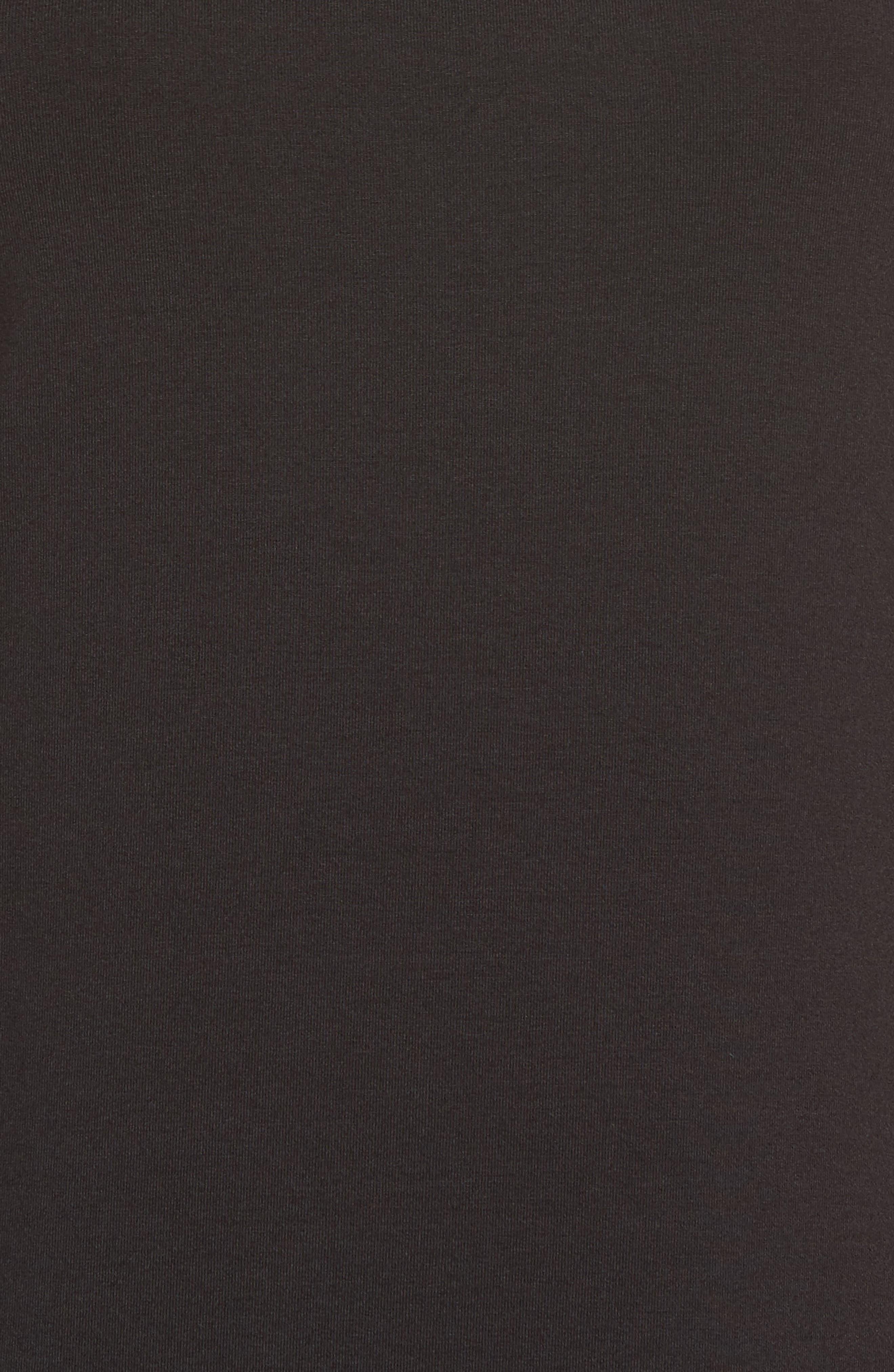 Tambour Maxi Dress,                             Alternate thumbnail 5, color,                             Black