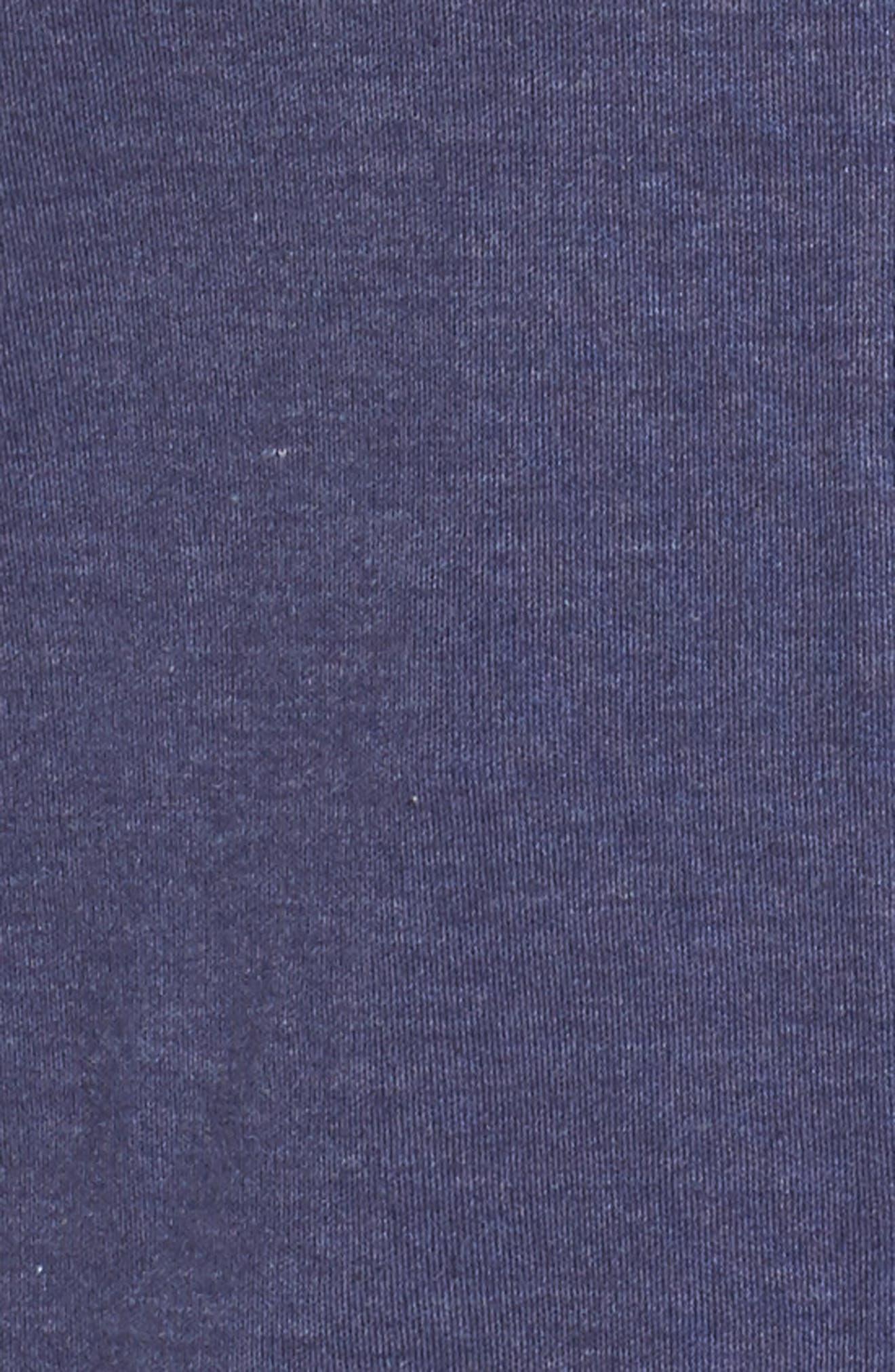 Jersey Pajamas,                             Alternate thumbnail 5, color,                             Blue