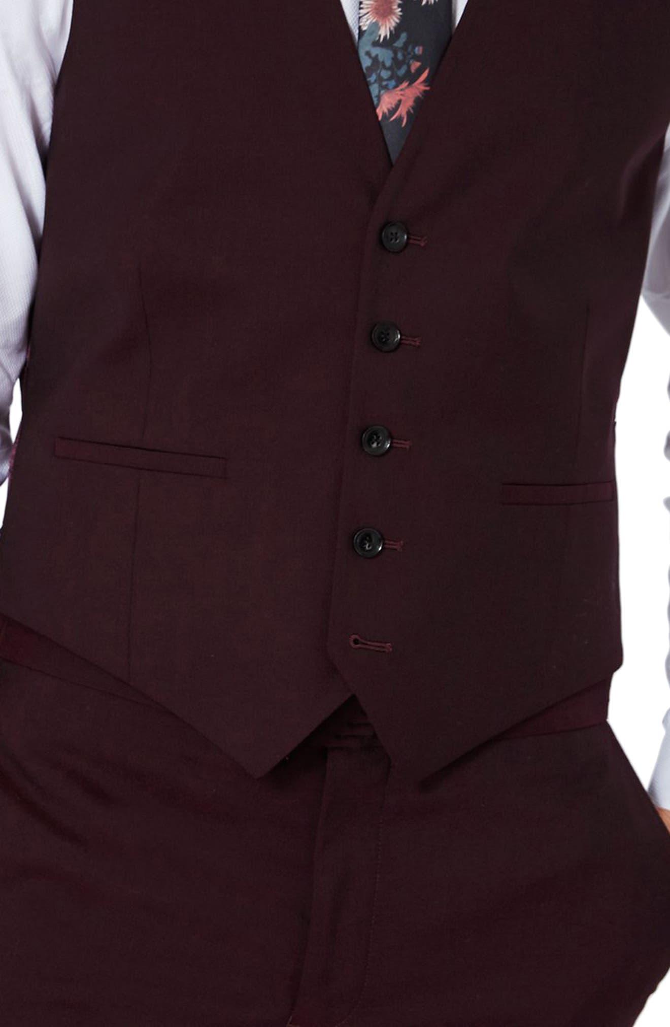 Alternate Image 4  - Charlie Casely-Hayford x Topman Skinny Fit Vest