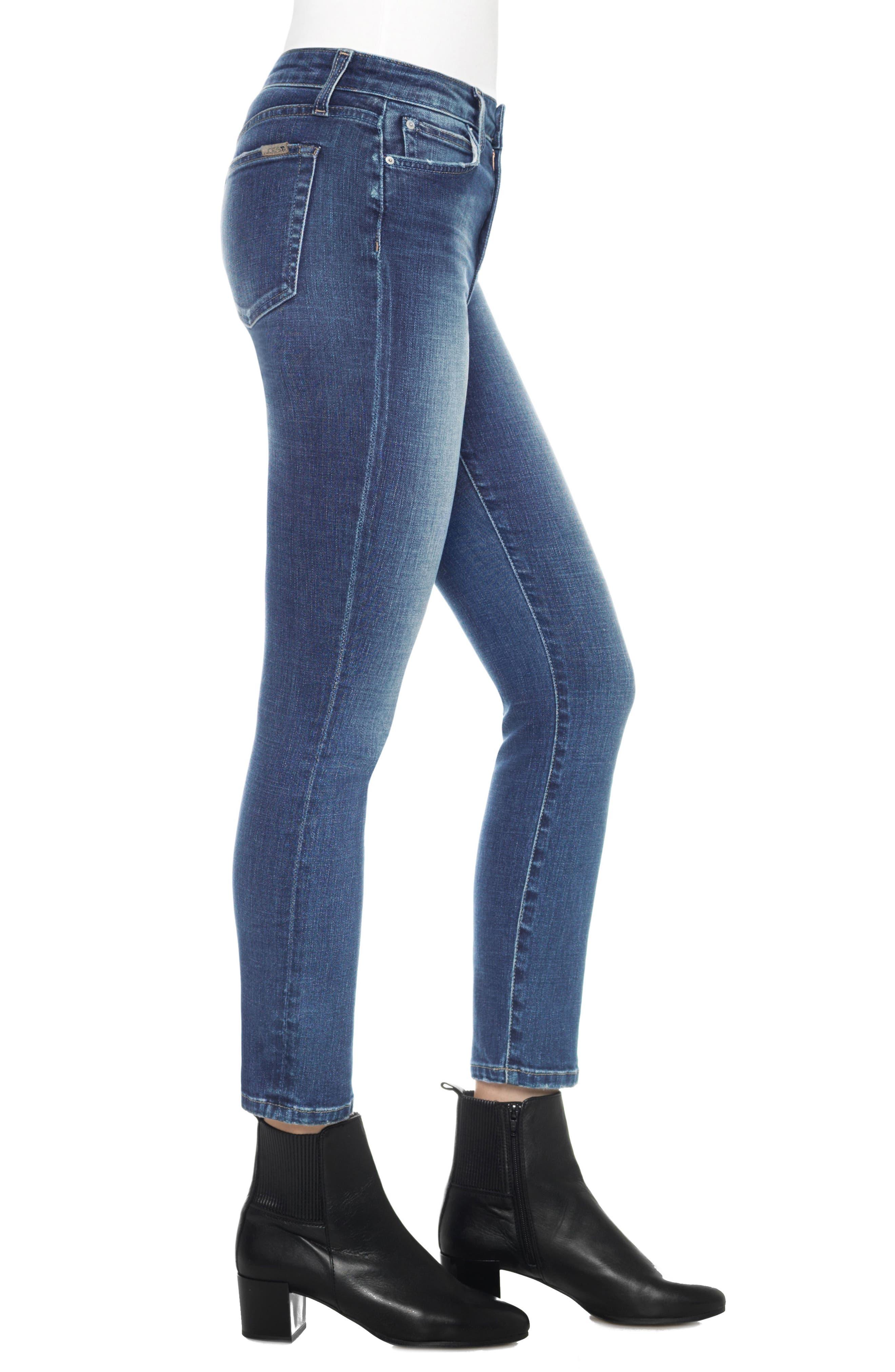 Kass Ankle Straight Leg Jeans,                             Alternate thumbnail 3, color,                             Sutton
