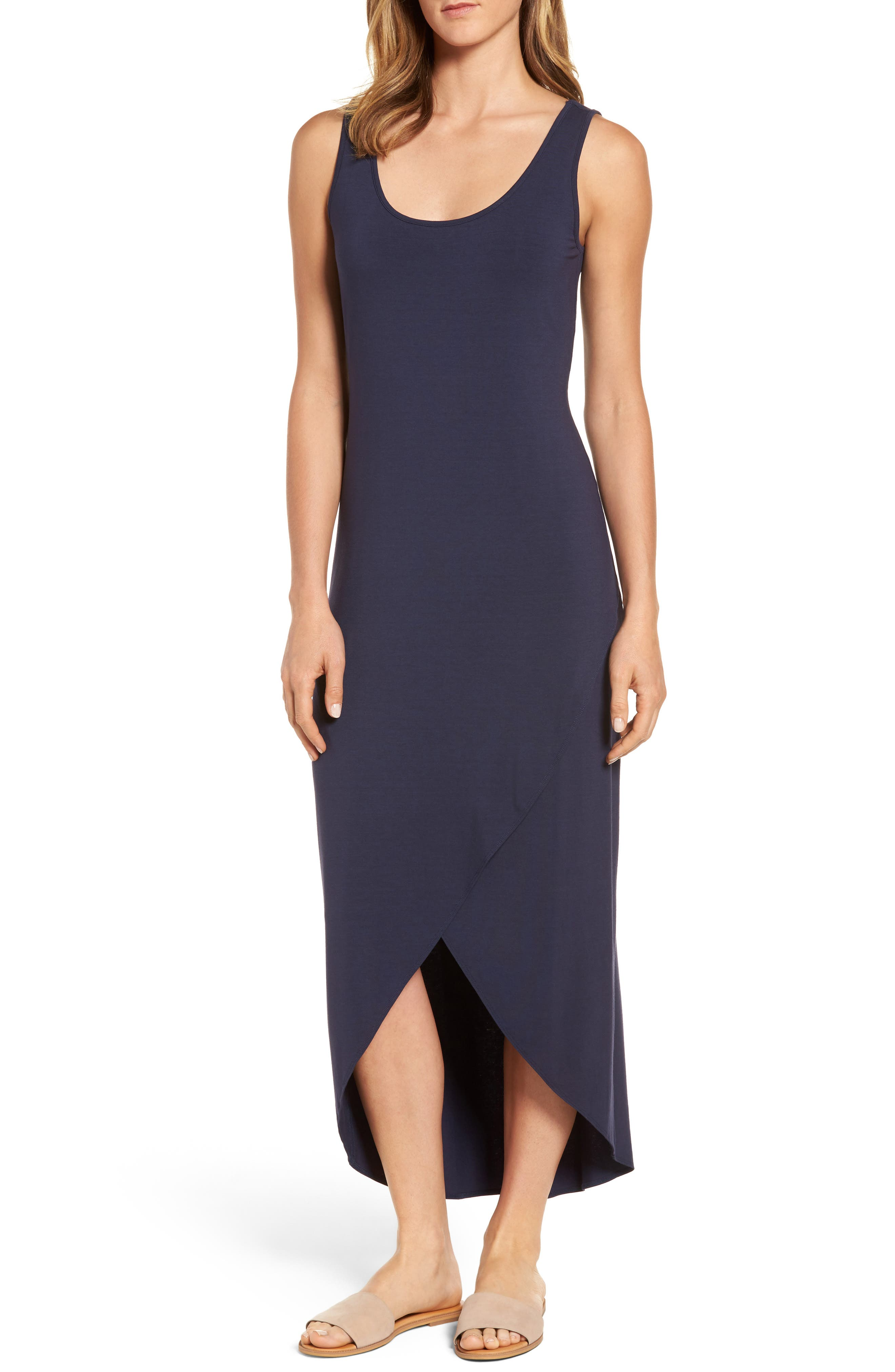 Alternate Image 1 Selected - Tommy Bahama Tambour Maxi Dress