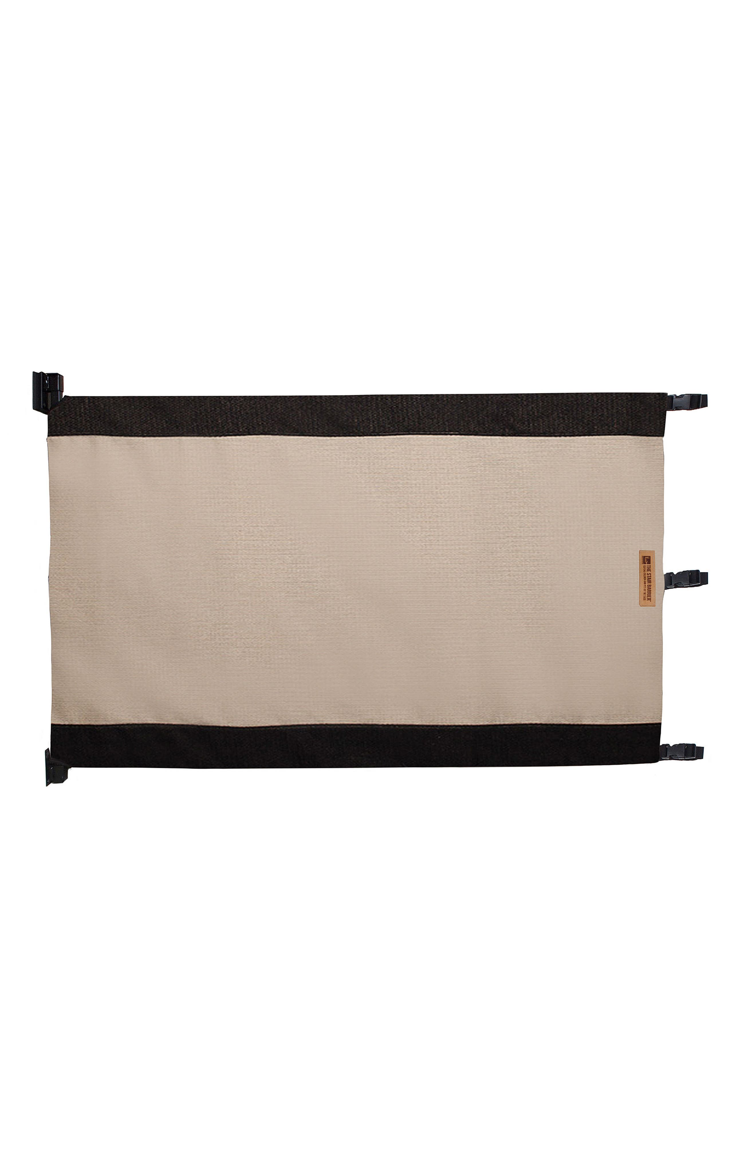Wall to Banister Regular Width Safety Gate,                             Alternate thumbnail 2, color,                             Black And Tan