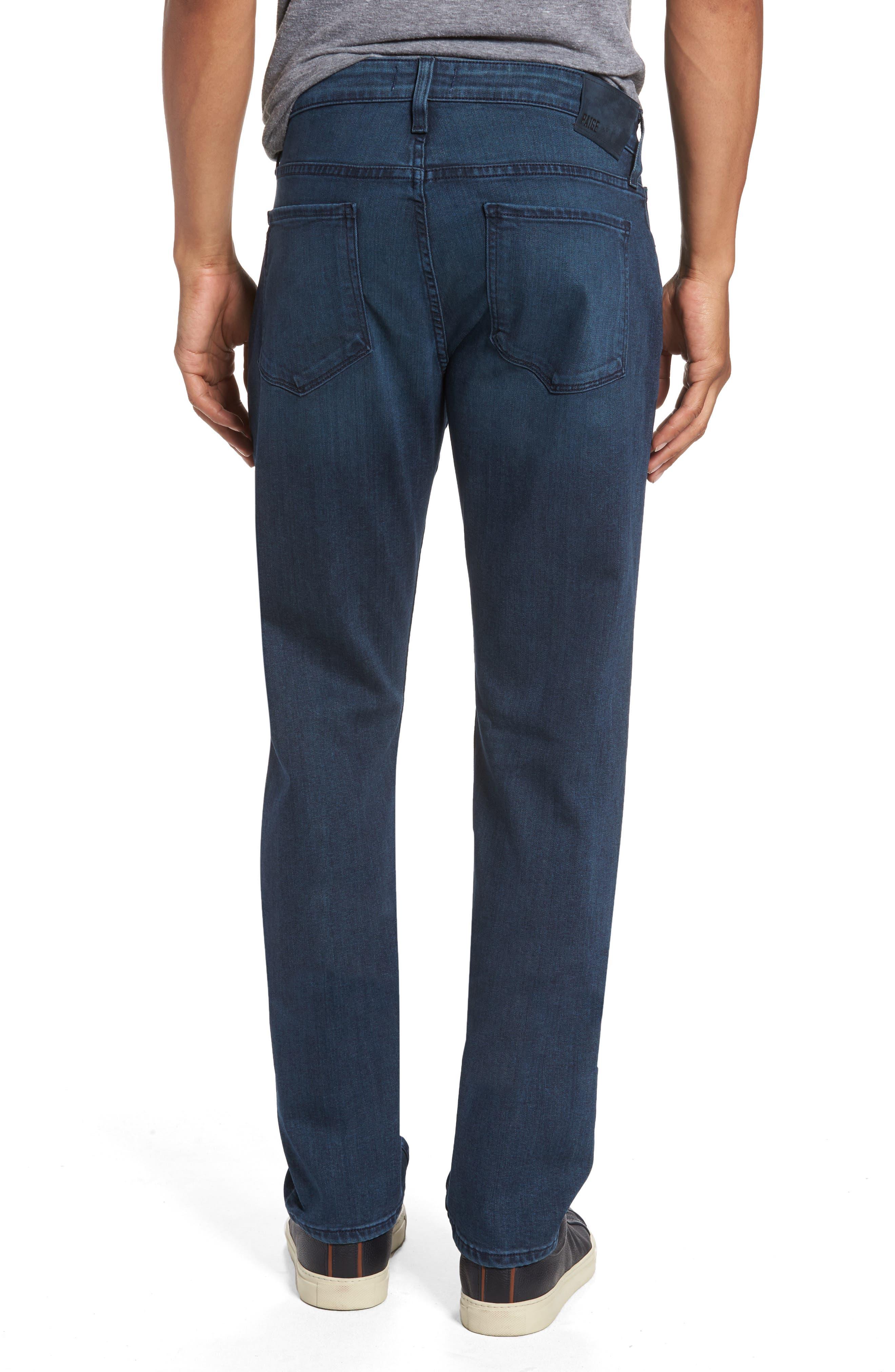 Transcend - Federal Slim Straight Fit Jeans,                             Alternate thumbnail 2, color,                             Elroy