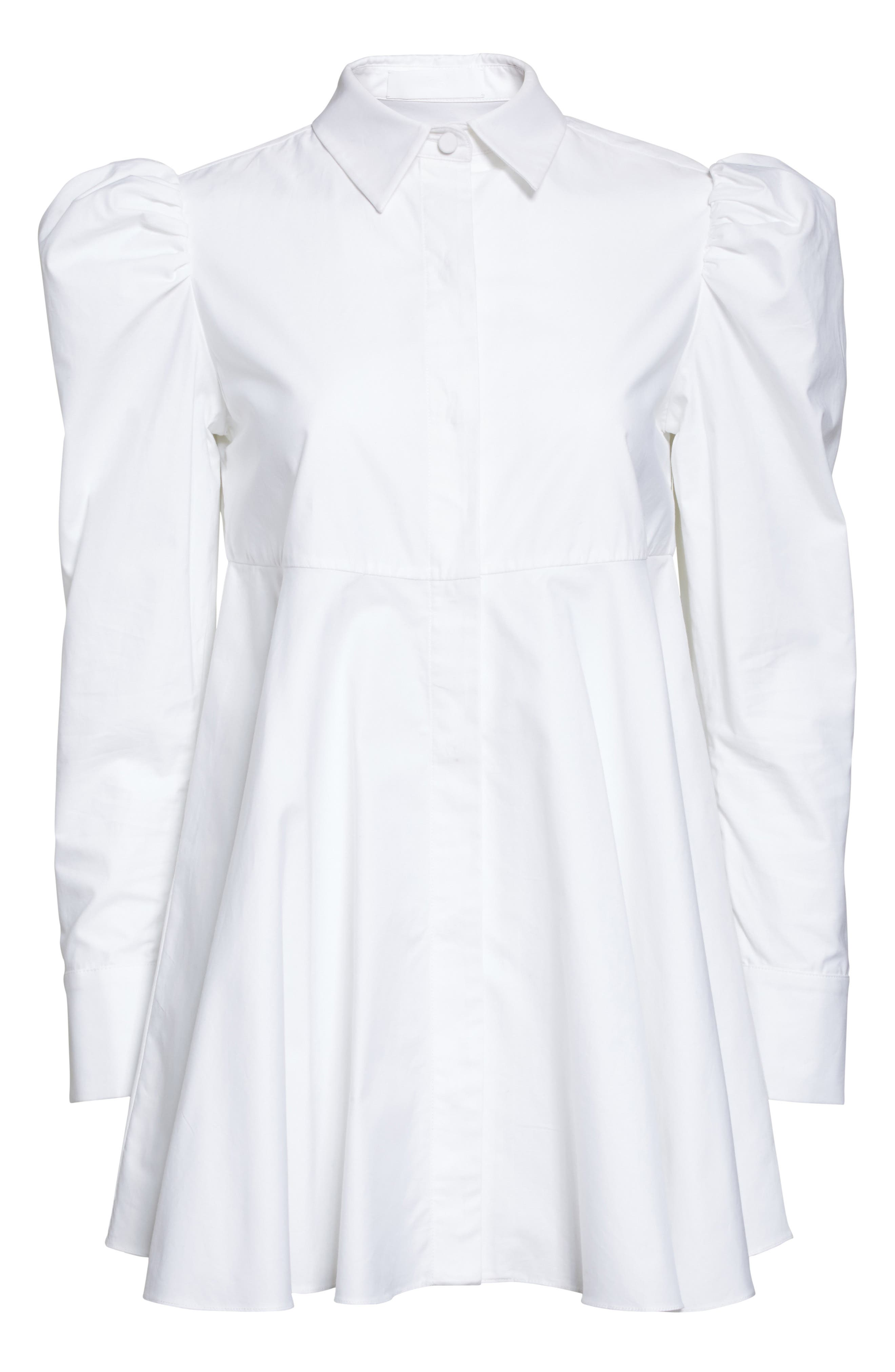 Alternate Image 4  - Co Cotton Puff Sleeve Blouse