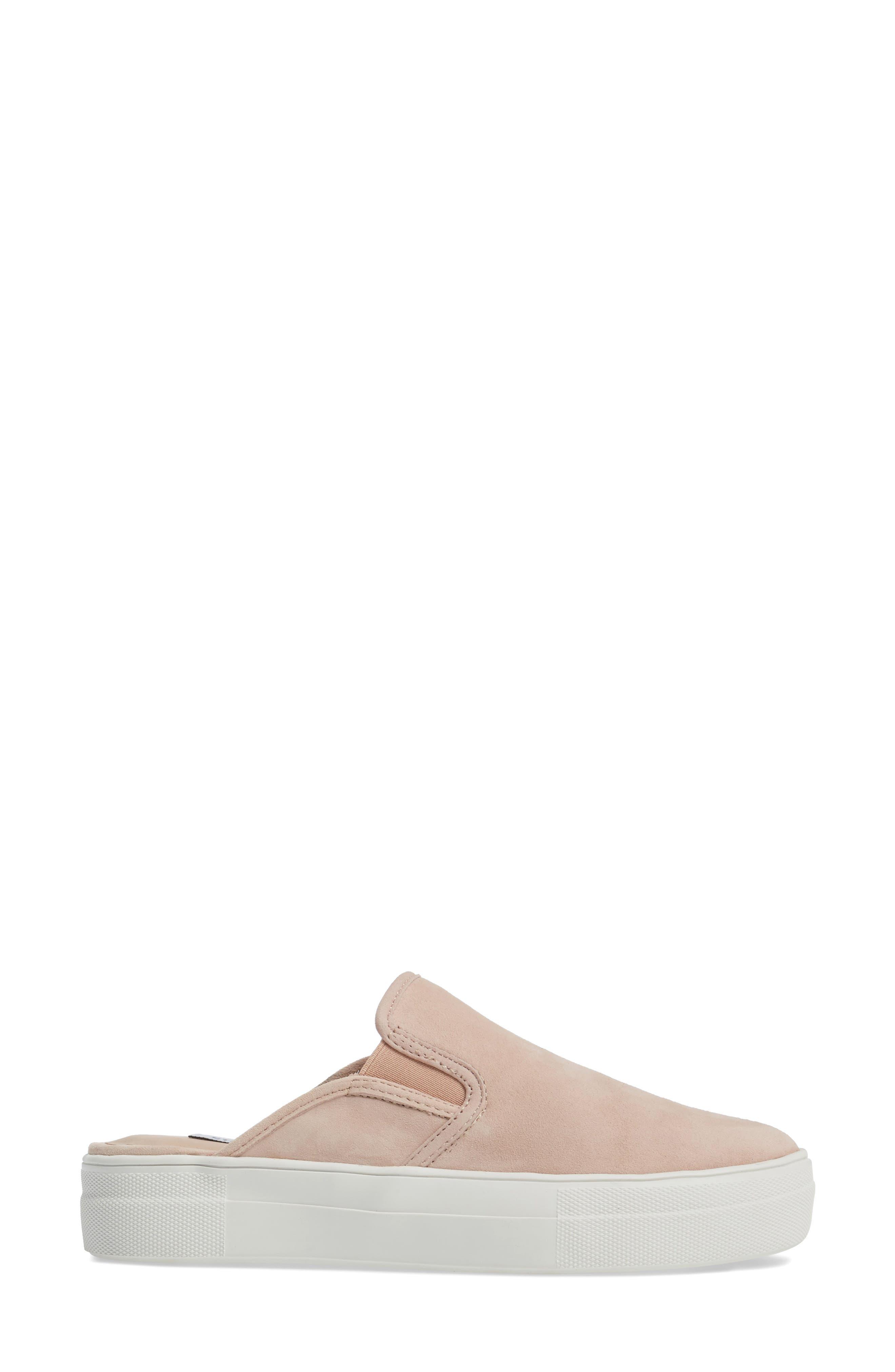 Glenda Sneaker Mule,                             Alternate thumbnail 3, color,                             Light Pink