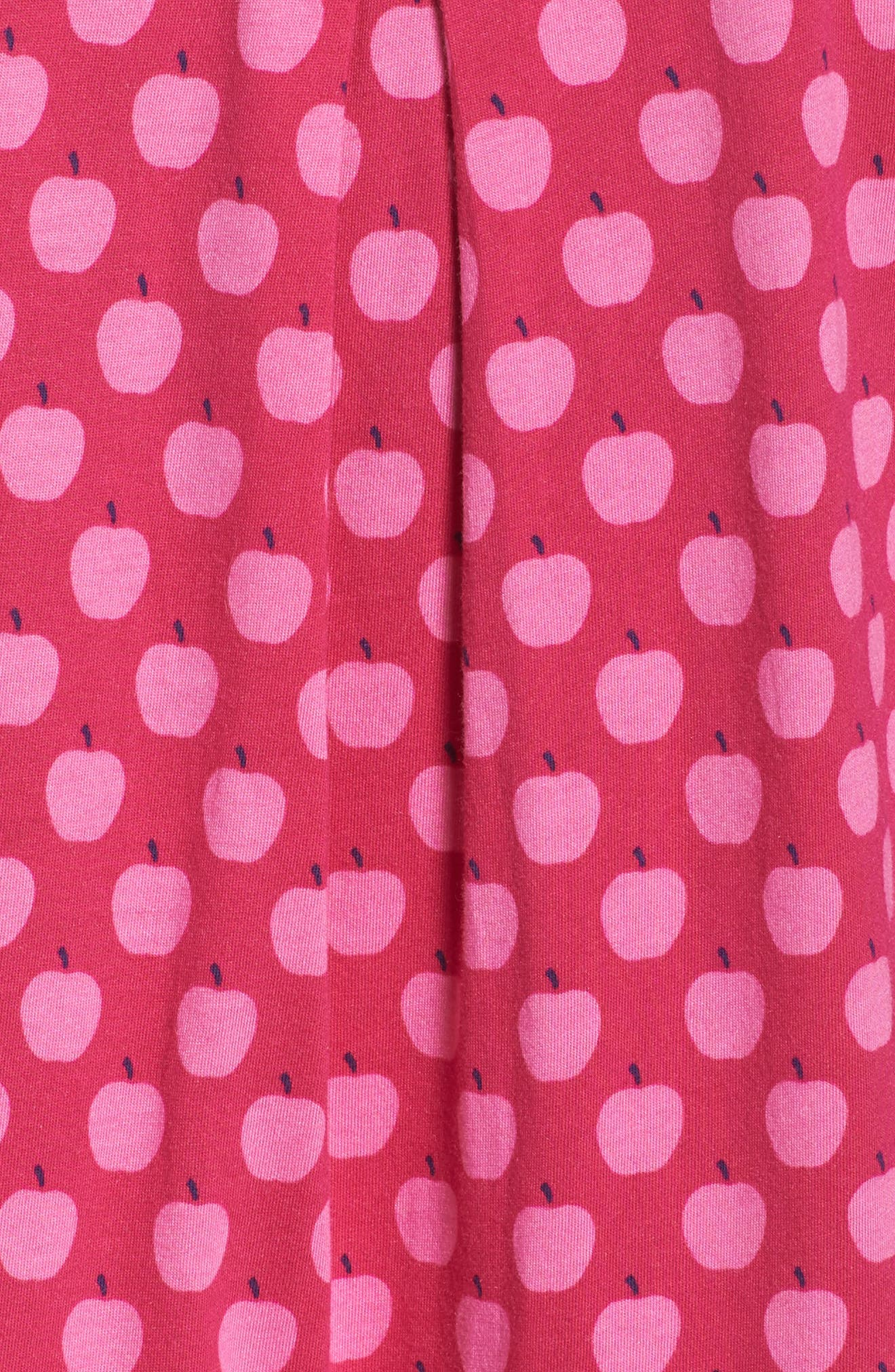 crop pajamas,                             Alternate thumbnail 6, color,                             Pink
