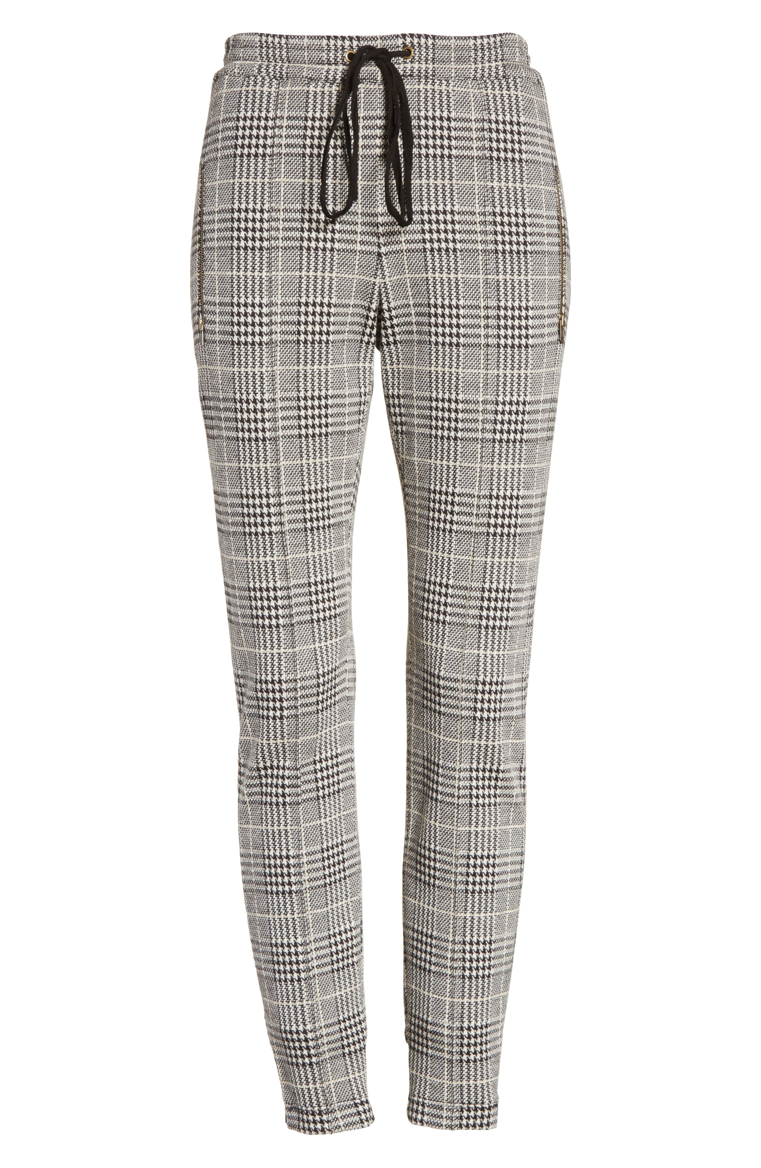 Alternate Image 6  - Tracy Reese Houndstooth Ankle Skinny Pants
