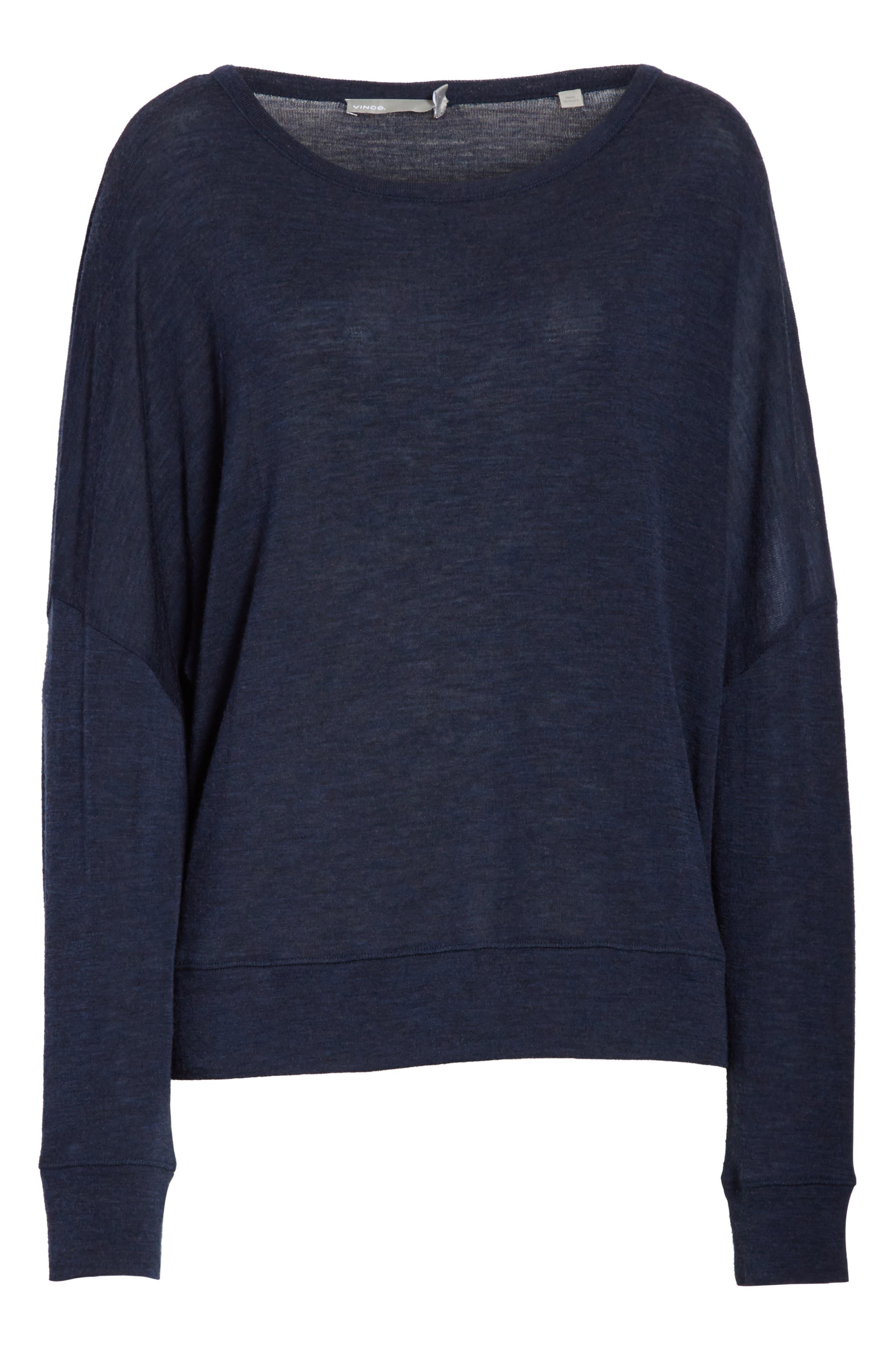 Wool Pullover,                             Alternate thumbnail 7, color,                             Coastal