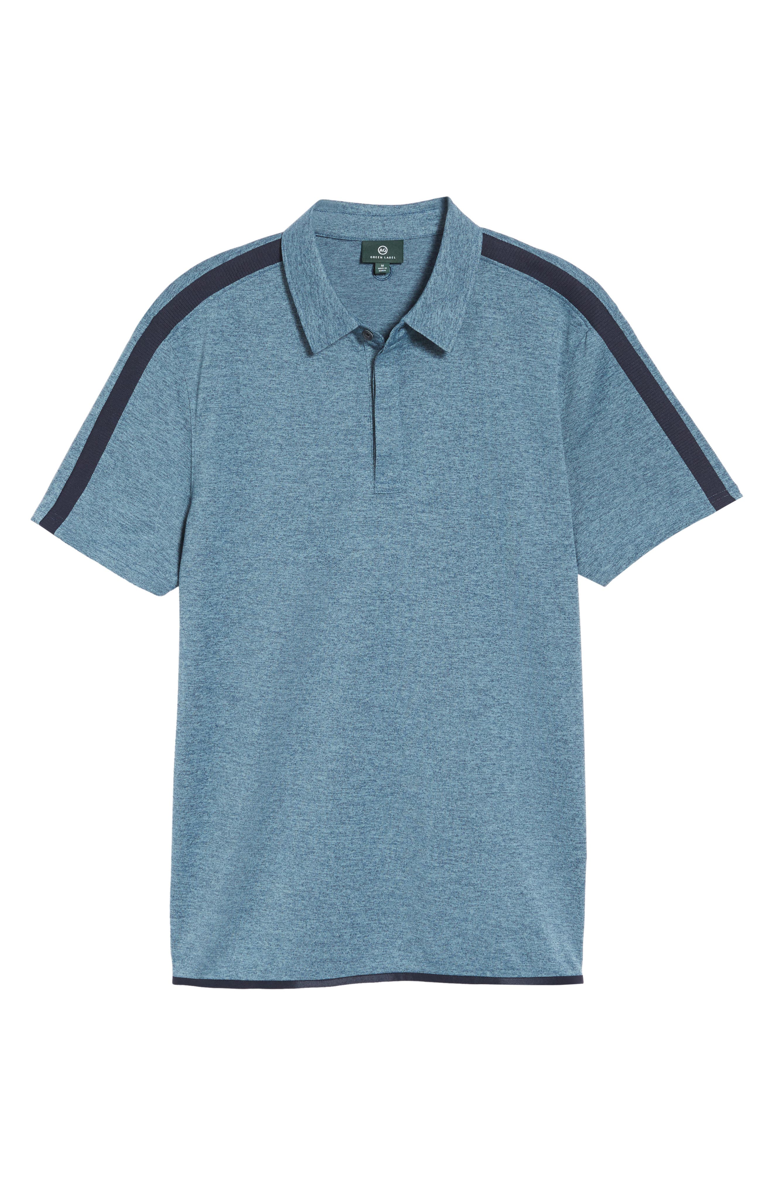 Alternate Image 6  - AG Felton Shoulder Stripe Polo