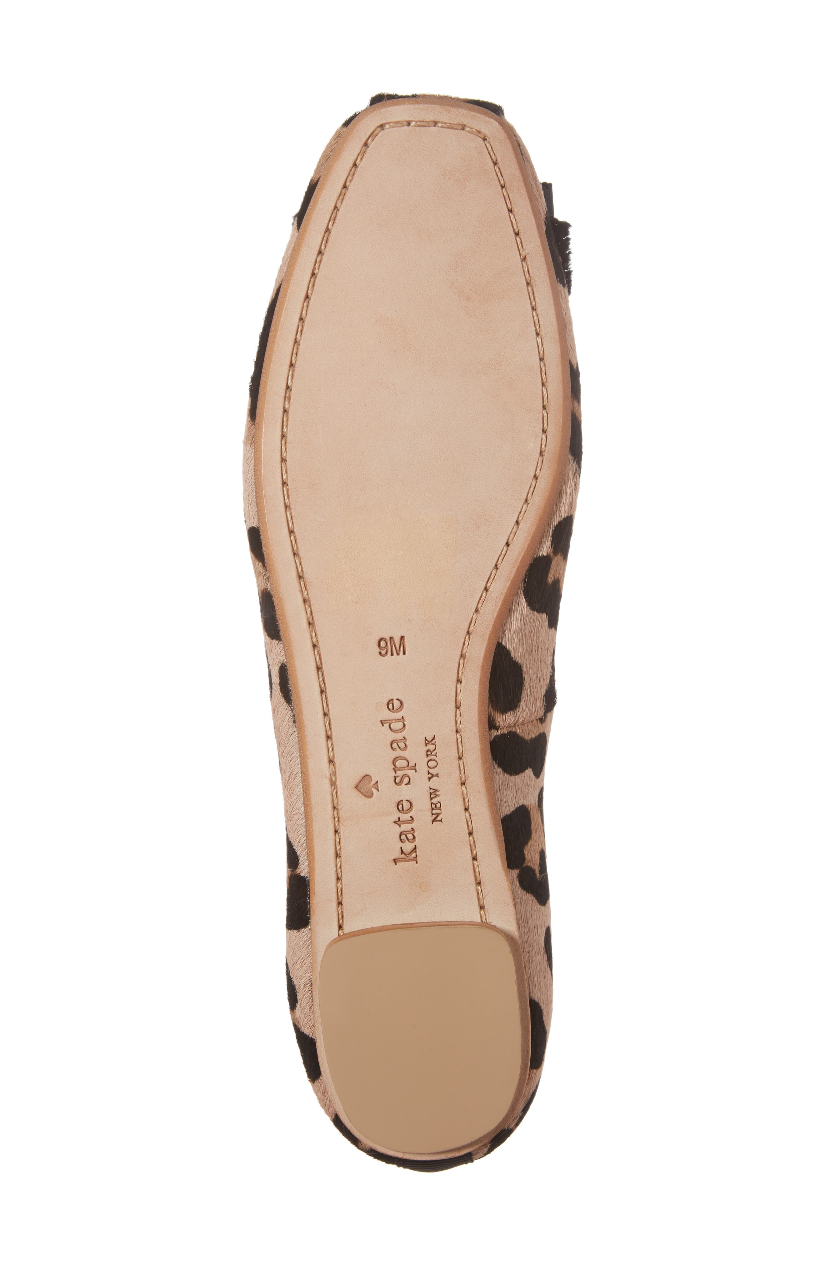 Alternate Image 6  - kate spade new york fontana too genuine calf hair ballet flat (Women)