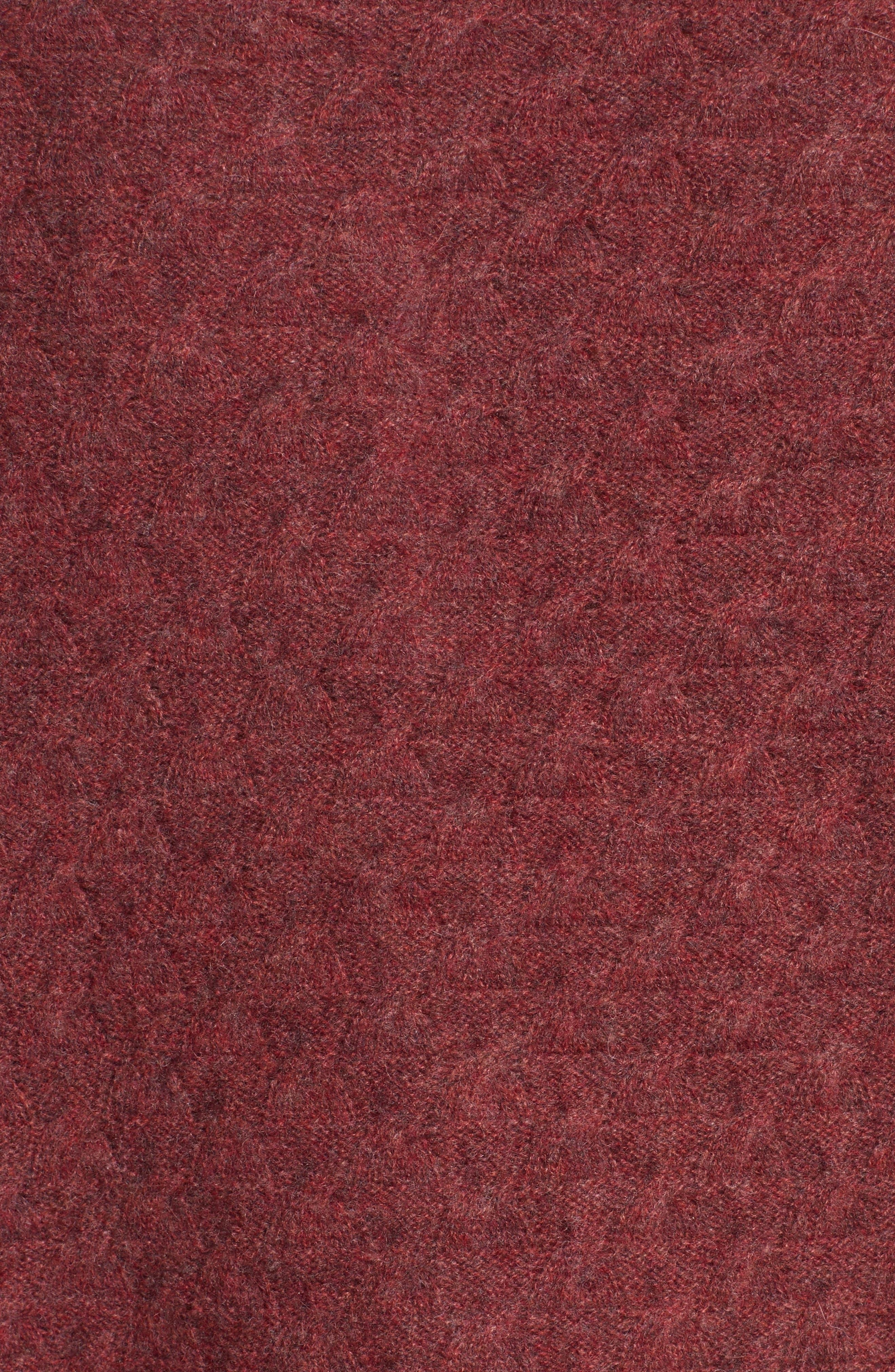 Heart Button Cashmere Cardigan,                             Alternate thumbnail 6, color,                             Pink
