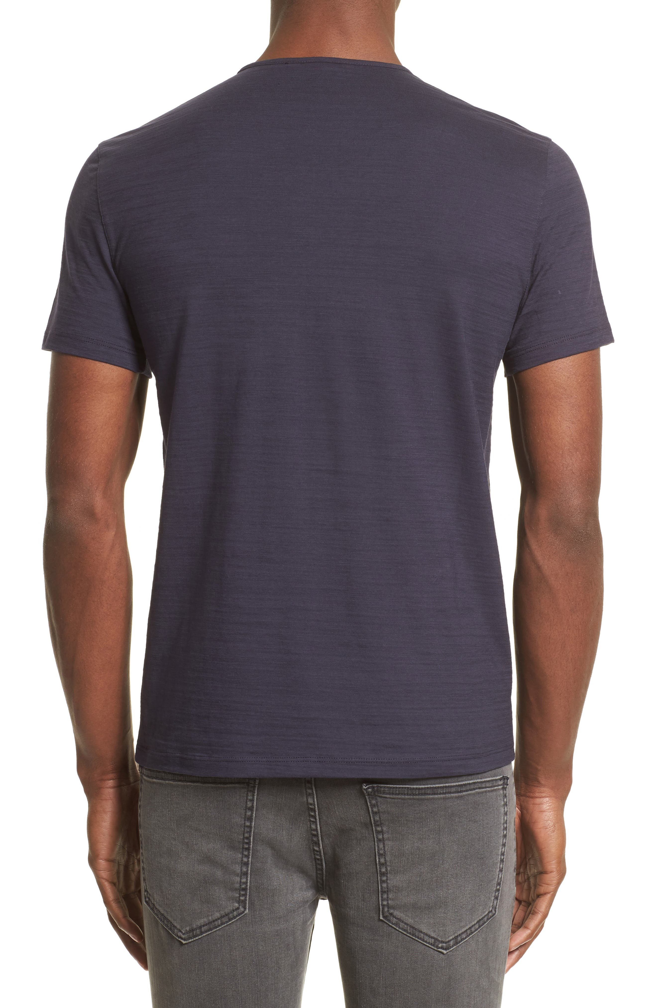 Slub T-Shirt,                             Alternate thumbnail 2, color,                             Antique Purple