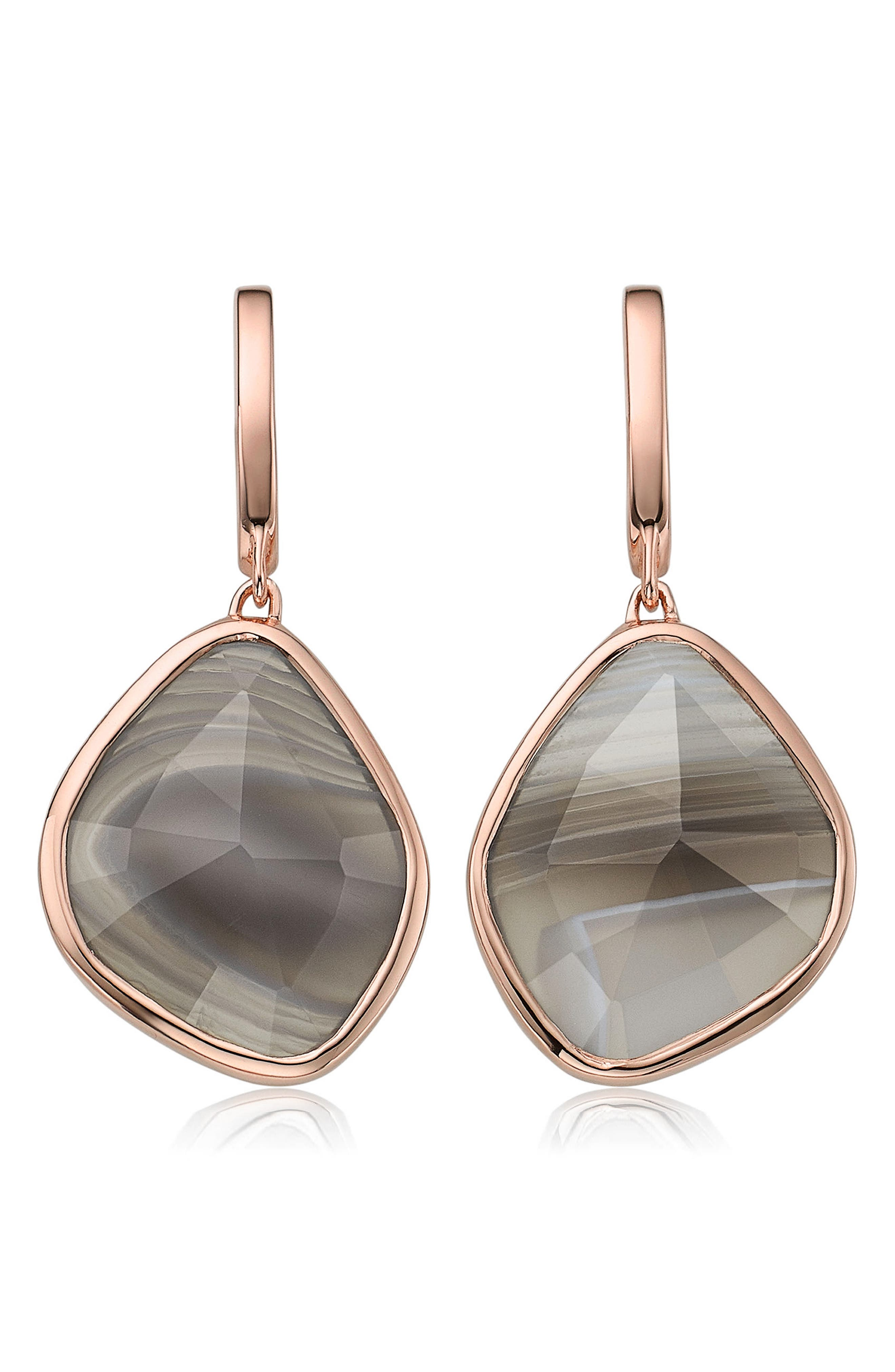 Main Image - Monica Vinader Siren Nugget Semiprecious Stone Drop Earrings