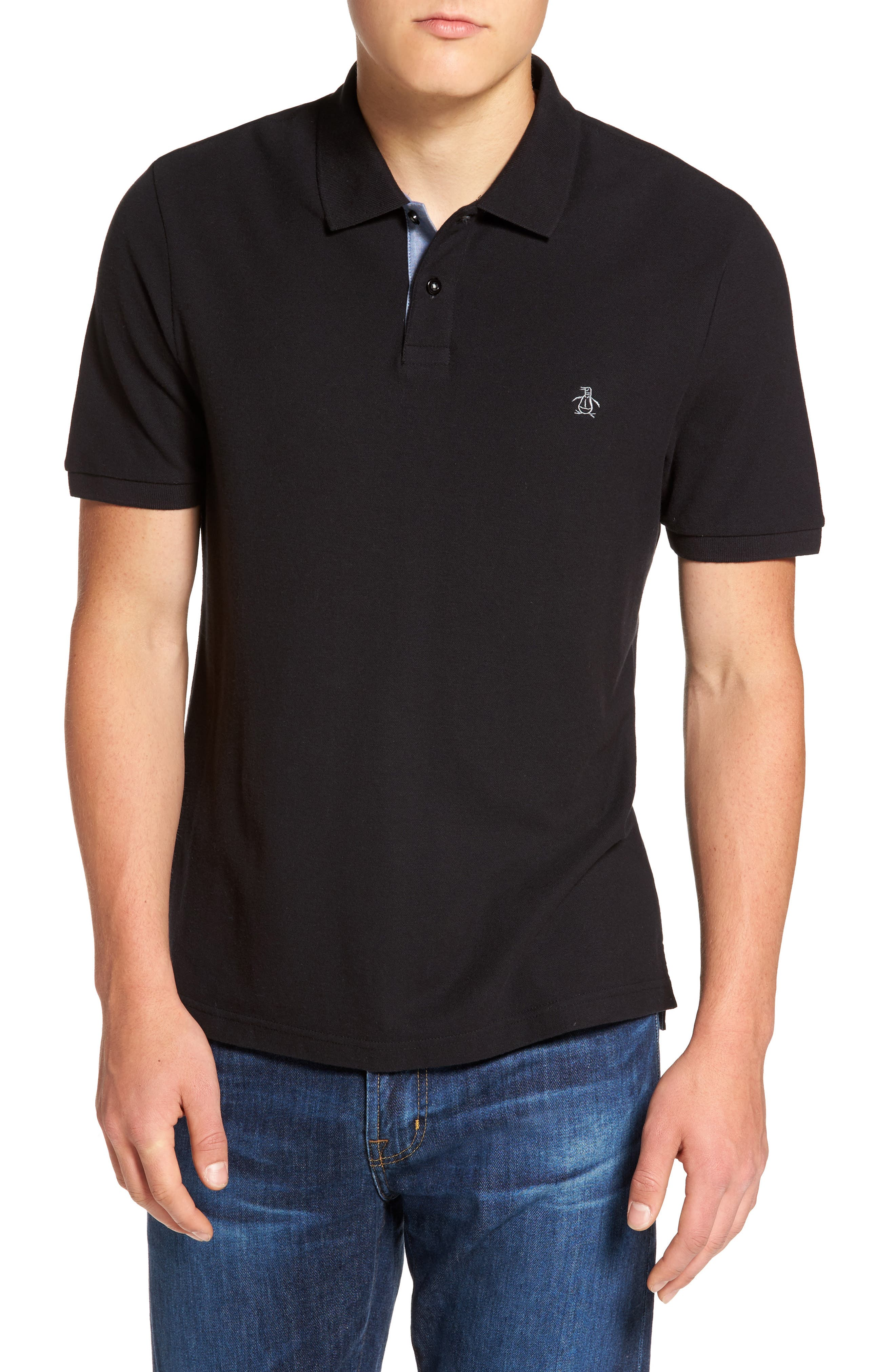 Original Penguin Daddy Piqué Polo