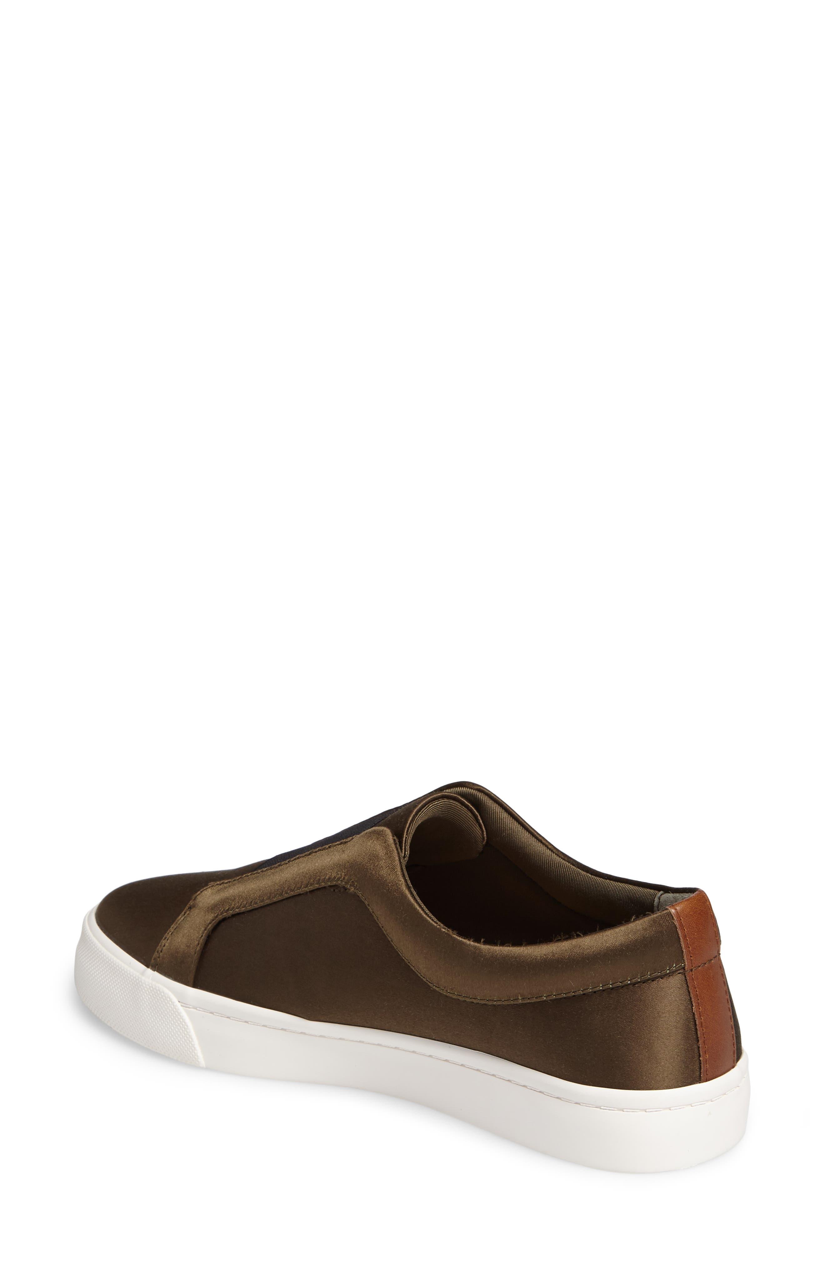 Bette Slip-On Sneaker,                             Alternate thumbnail 2, color,                             Peacoat/ Black Satin